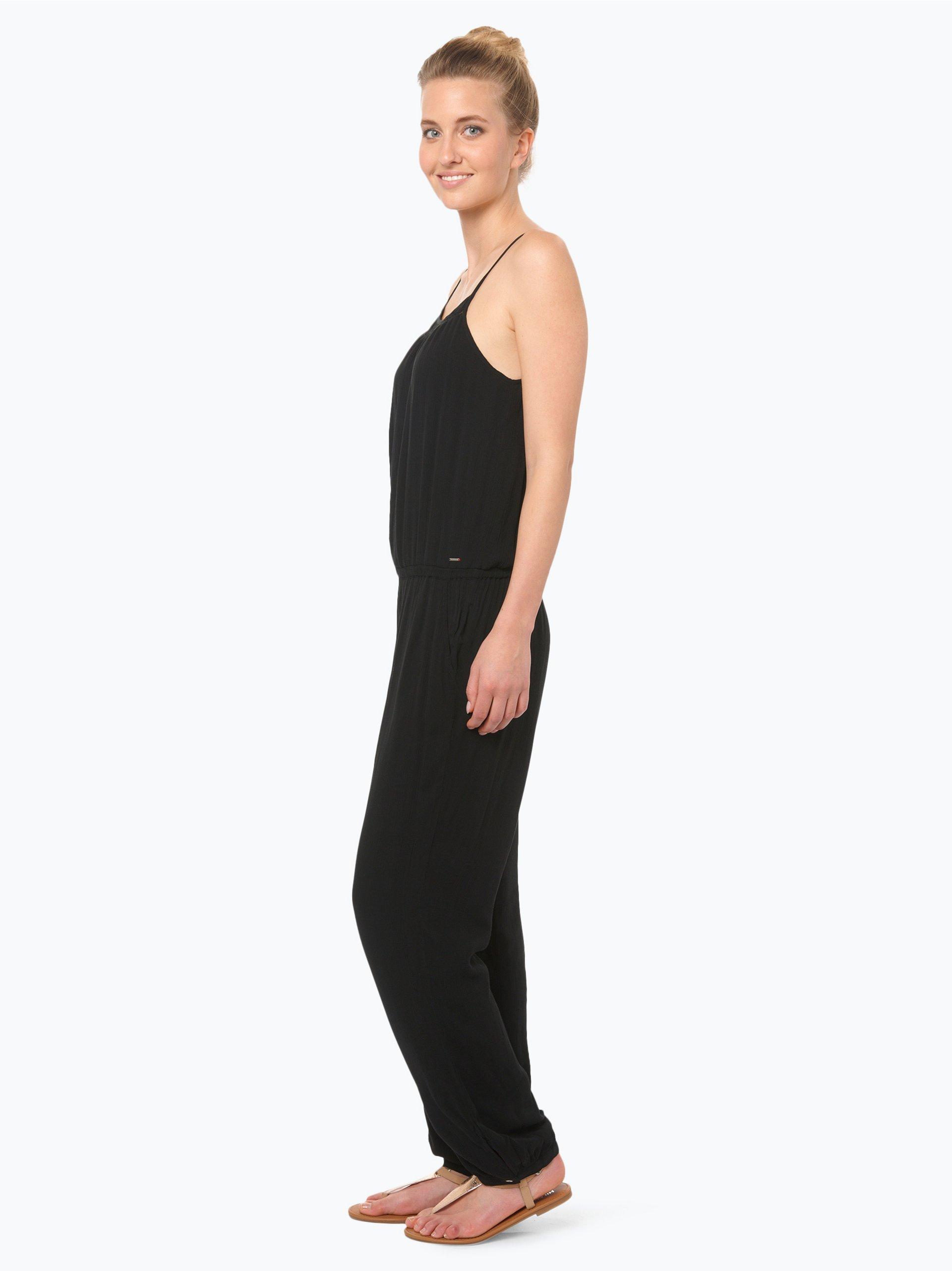 tommy jeans damen jumpsuit wei uni online kaufen. Black Bedroom Furniture Sets. Home Design Ideas
