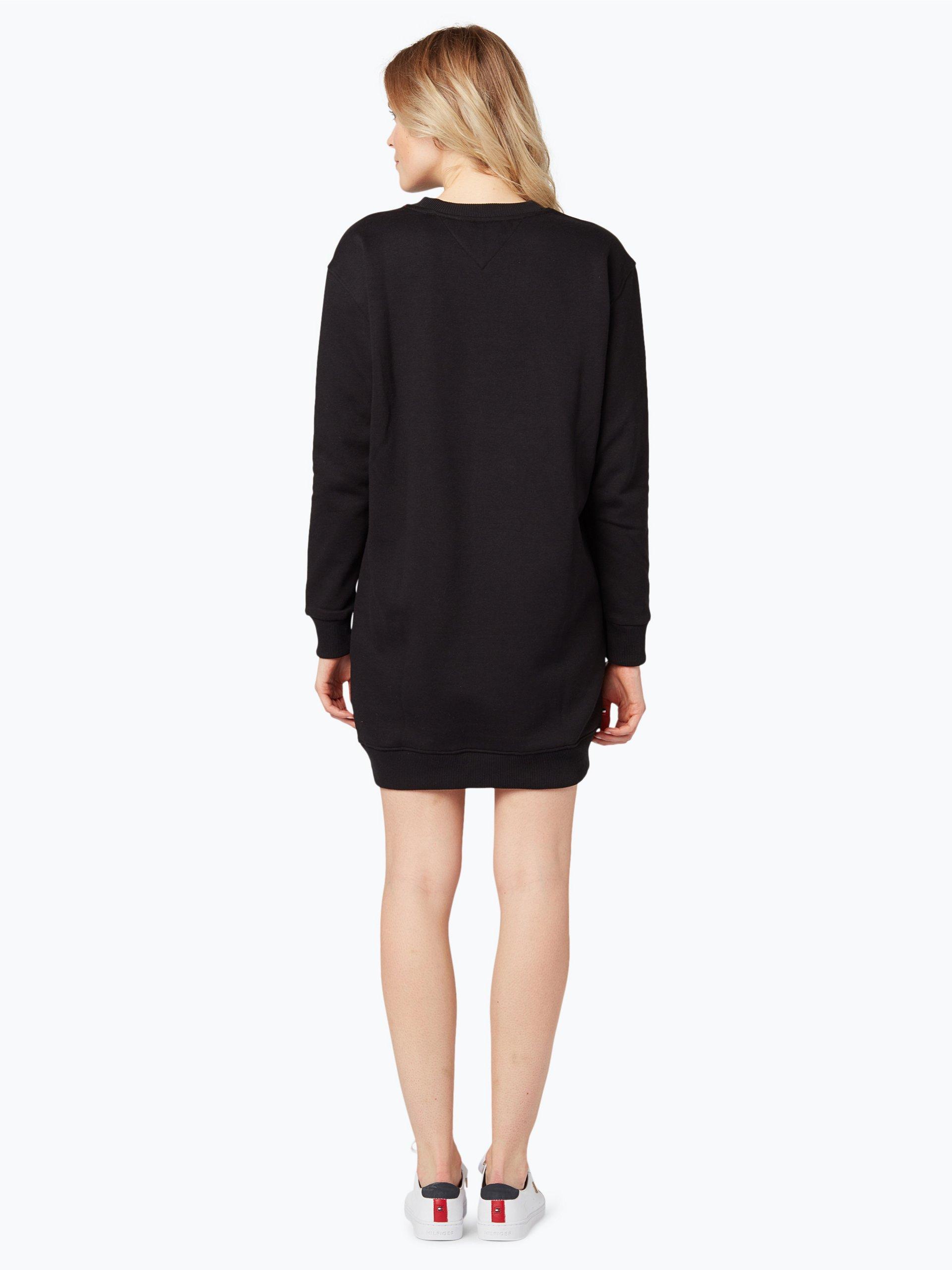 tommy jeans damen kleid schwarz uni online kaufen peek. Black Bedroom Furniture Sets. Home Design Ideas