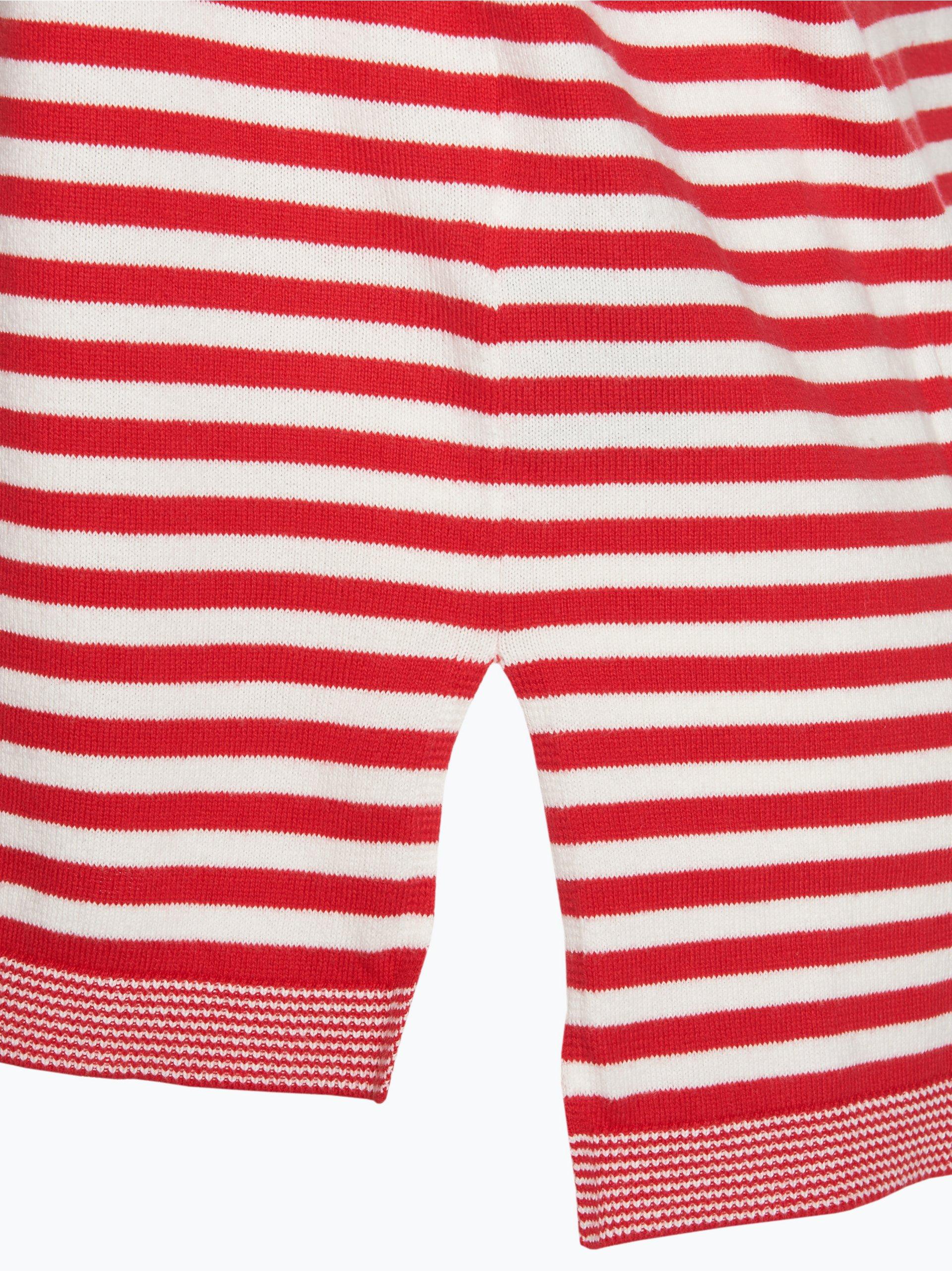 tommy jeans damen pullover rot gestreift online kaufen. Black Bedroom Furniture Sets. Home Design Ideas