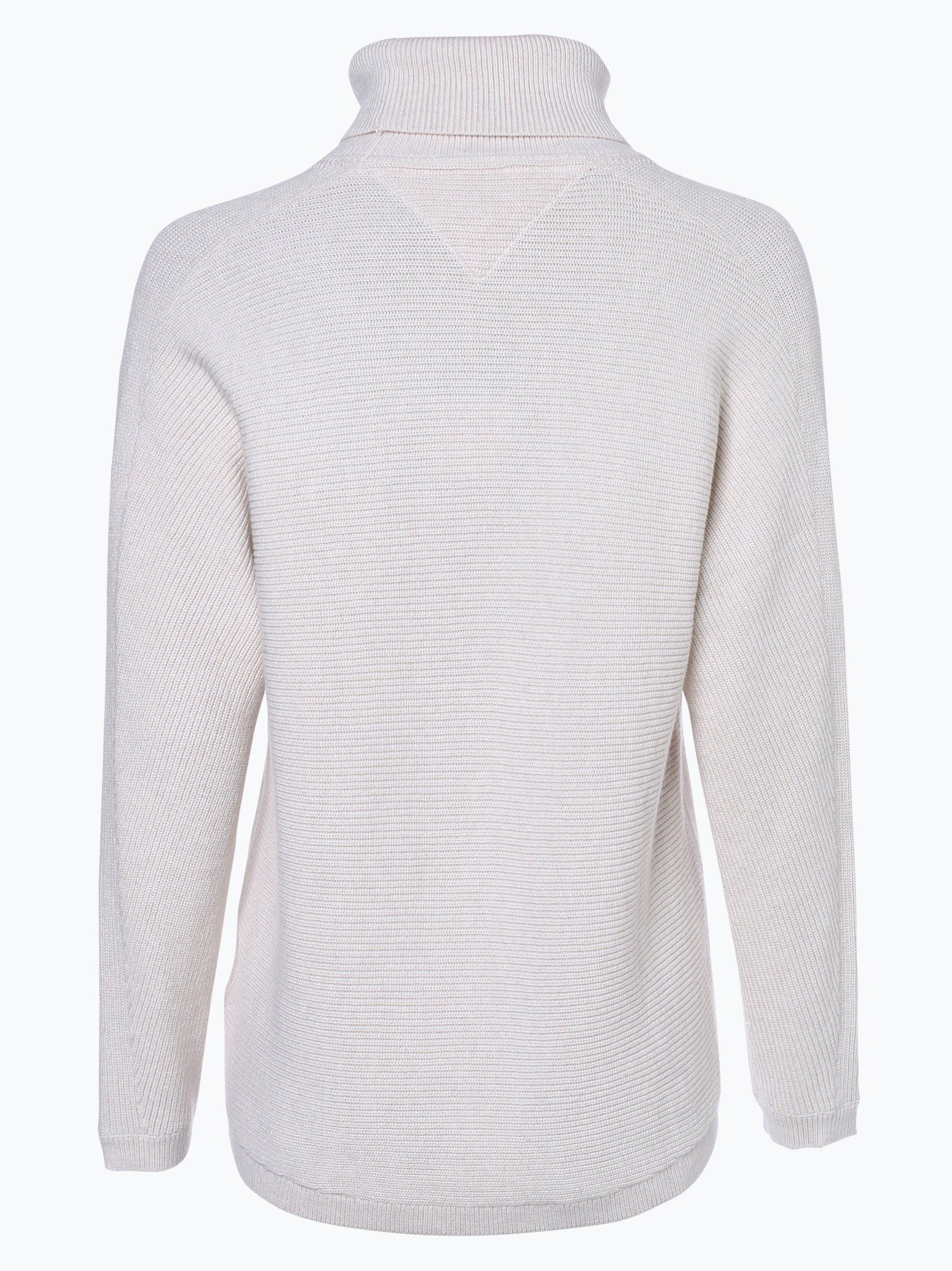 tommy jeans damen pullover ecru uni online kaufen peek. Black Bedroom Furniture Sets. Home Design Ideas