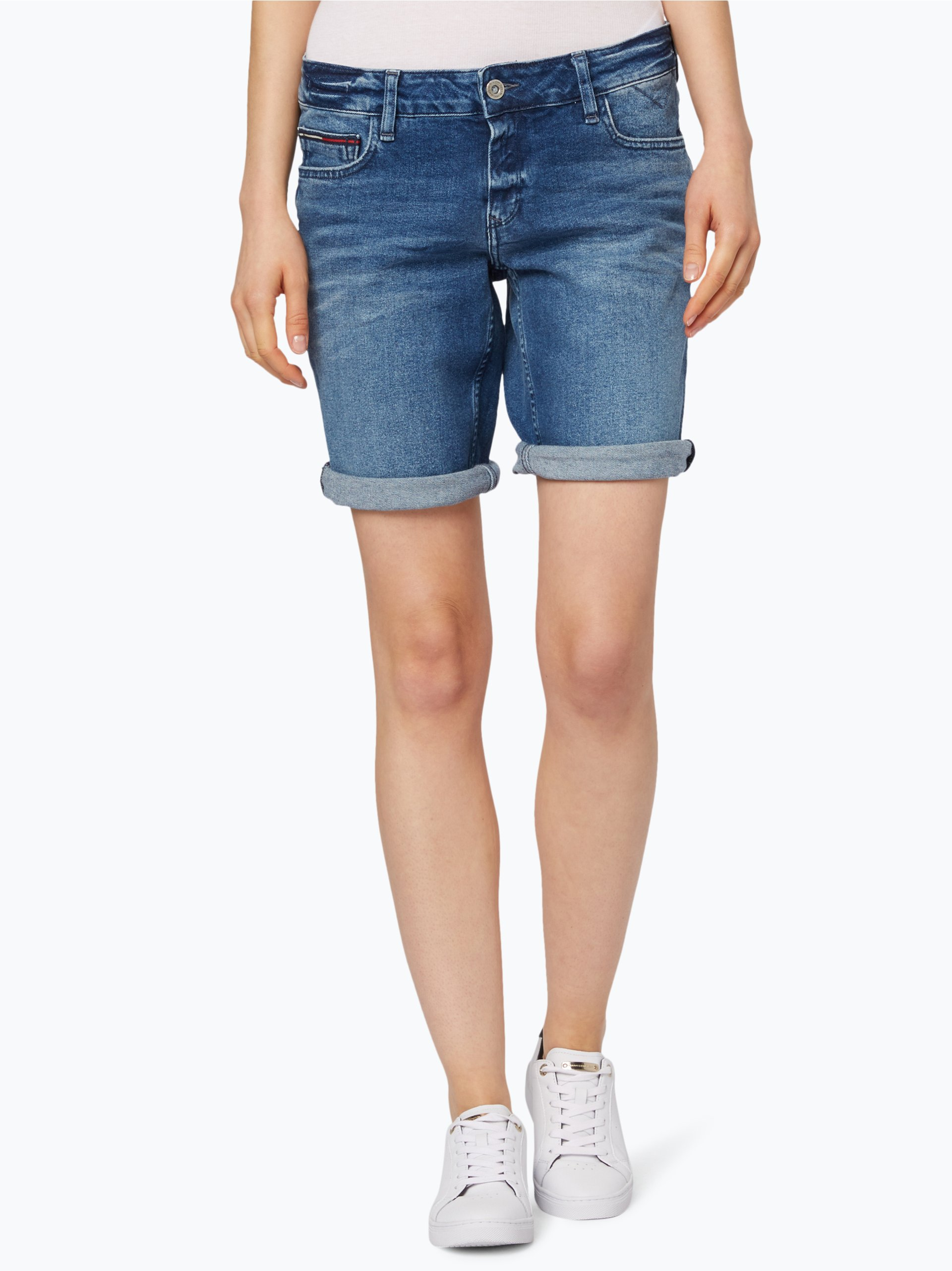 tommy jeans damen shorts online kaufen peek und. Black Bedroom Furniture Sets. Home Design Ideas
