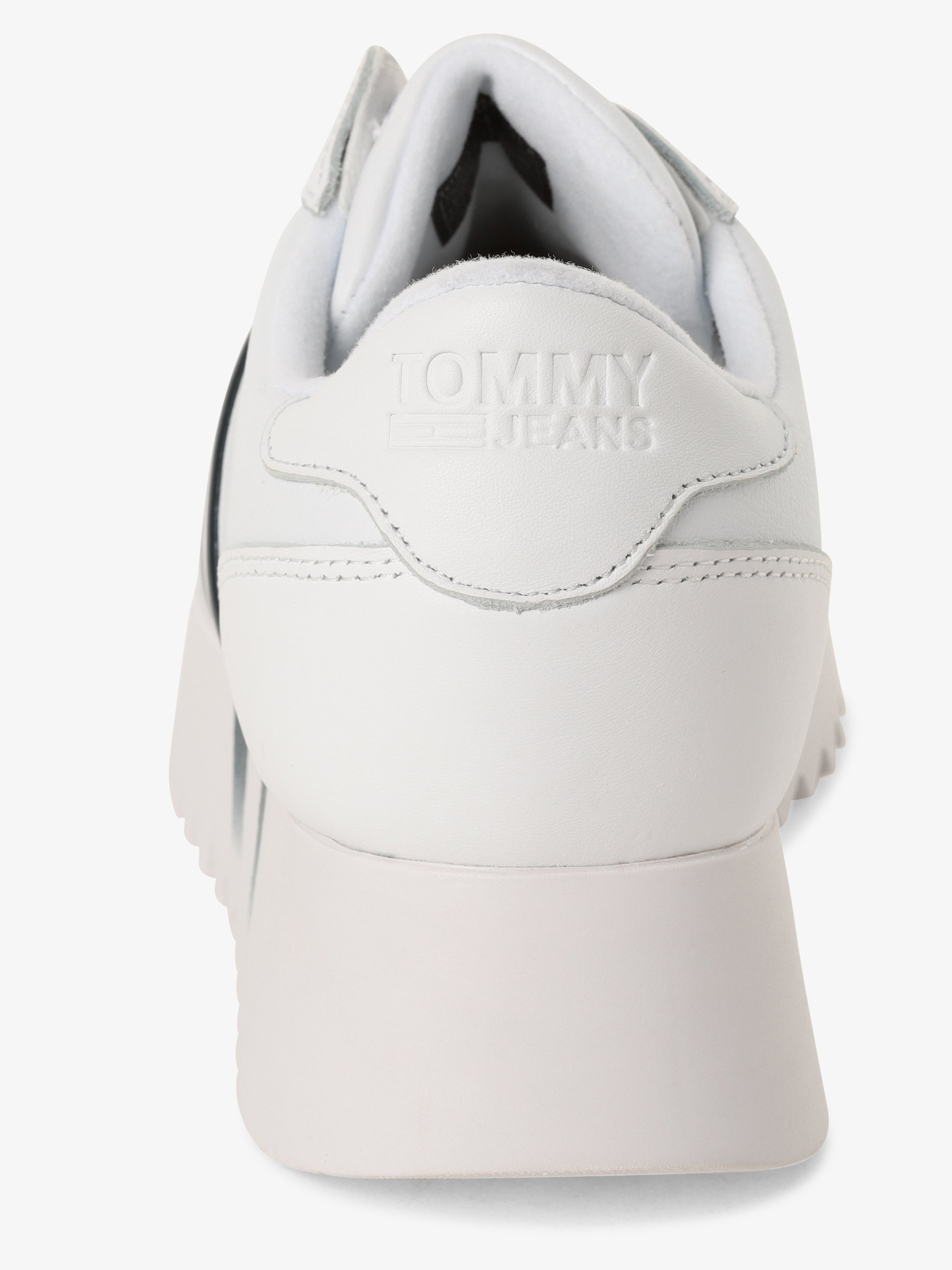 Tommy Jeans Damen Sneaker mit Leder-Anteil