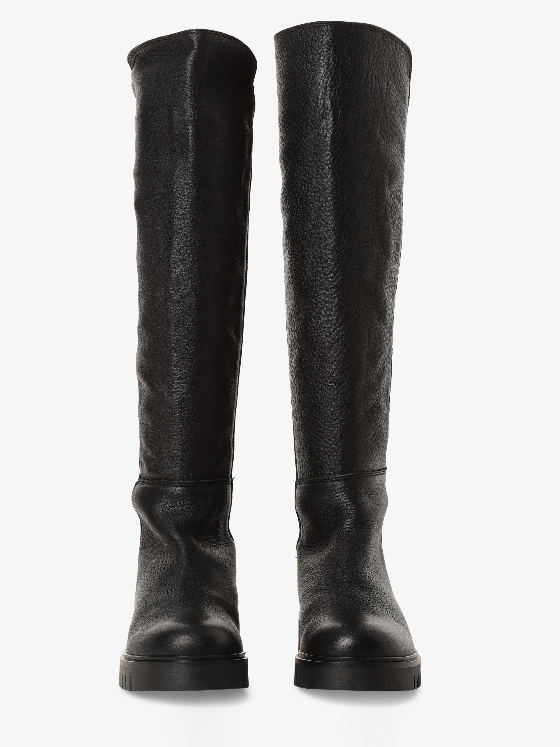 Tommy Jeans Damen Stiefel aus Leder
