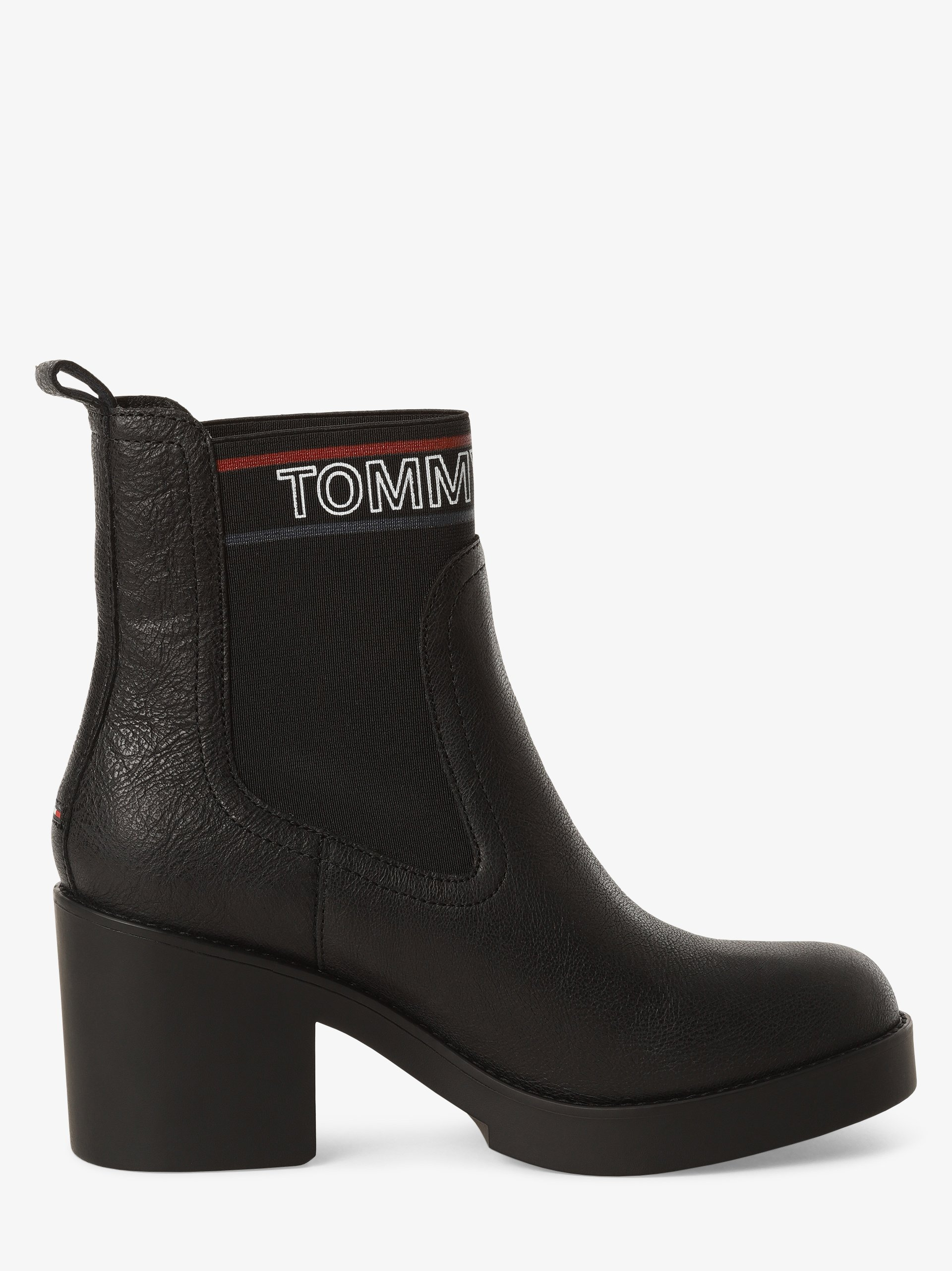 Tommy Jeans Damen Stiefeletten mit Leder-Anteil
