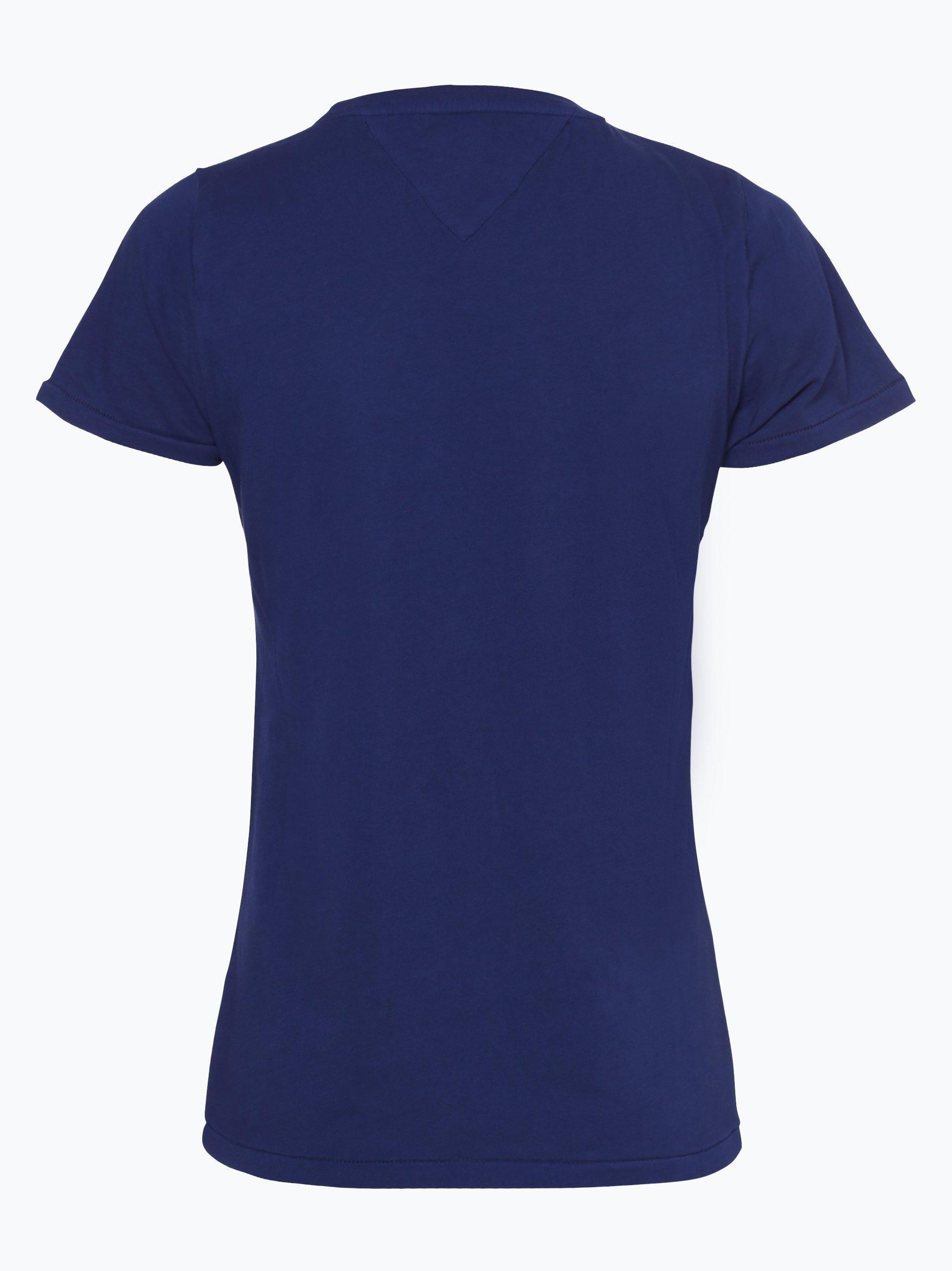 tommy jeans damen t shirt marine gemustert online kaufen. Black Bedroom Furniture Sets. Home Design Ideas