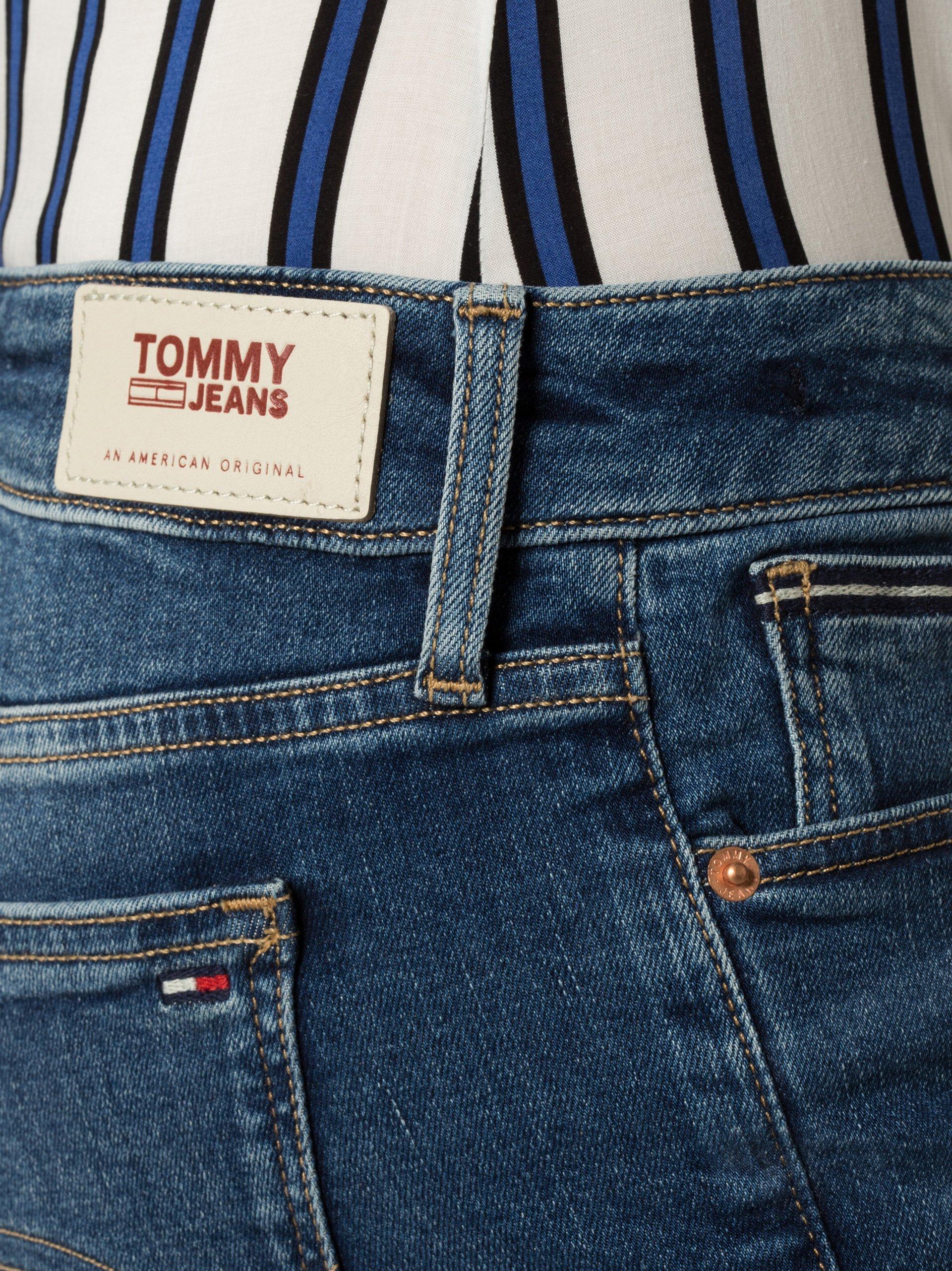 Tommy Jeans Damskie krótkie spodenki jeansowe