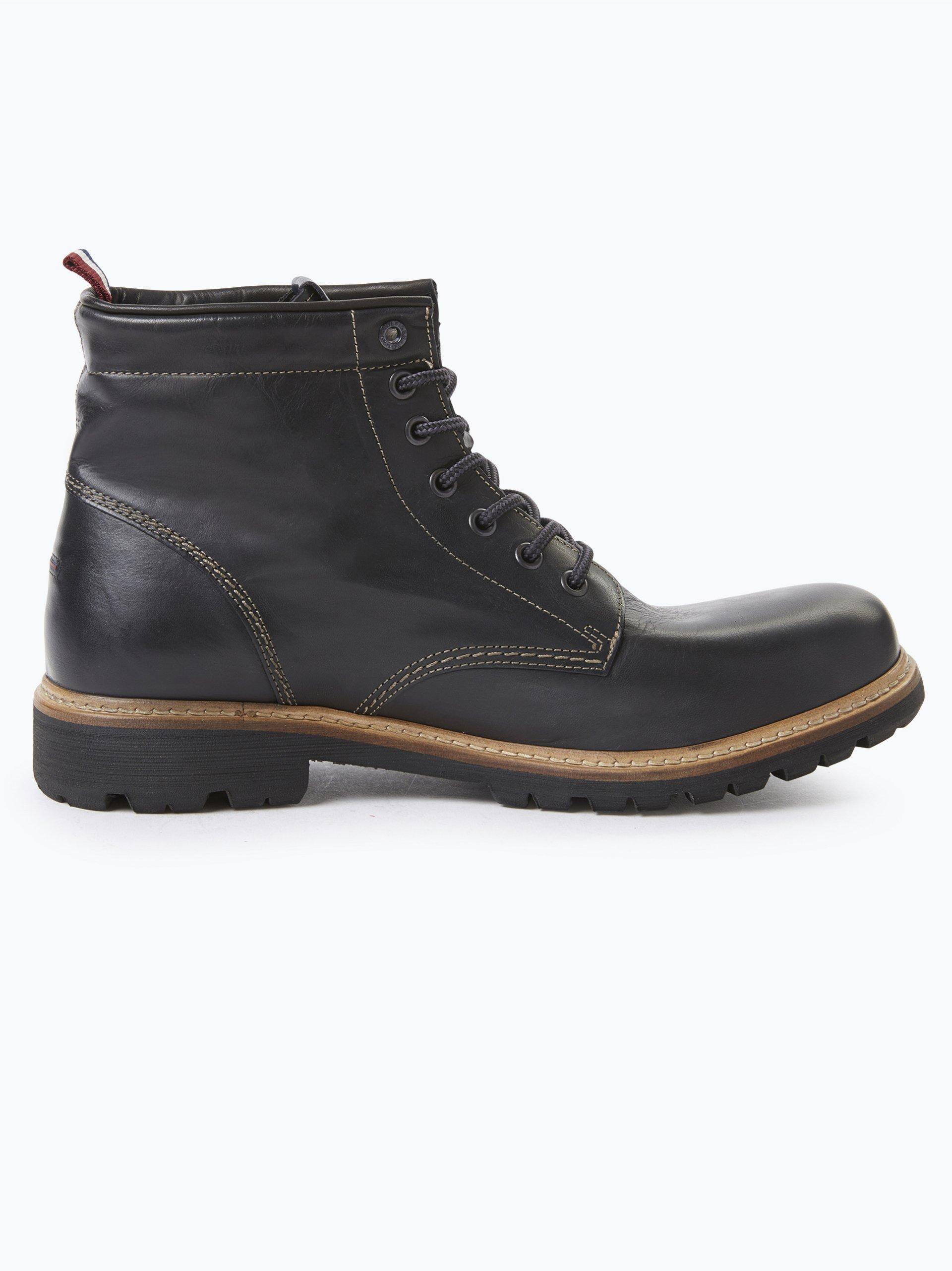 Tommy Jeans Herren Boots aus Leder - Luca 8A