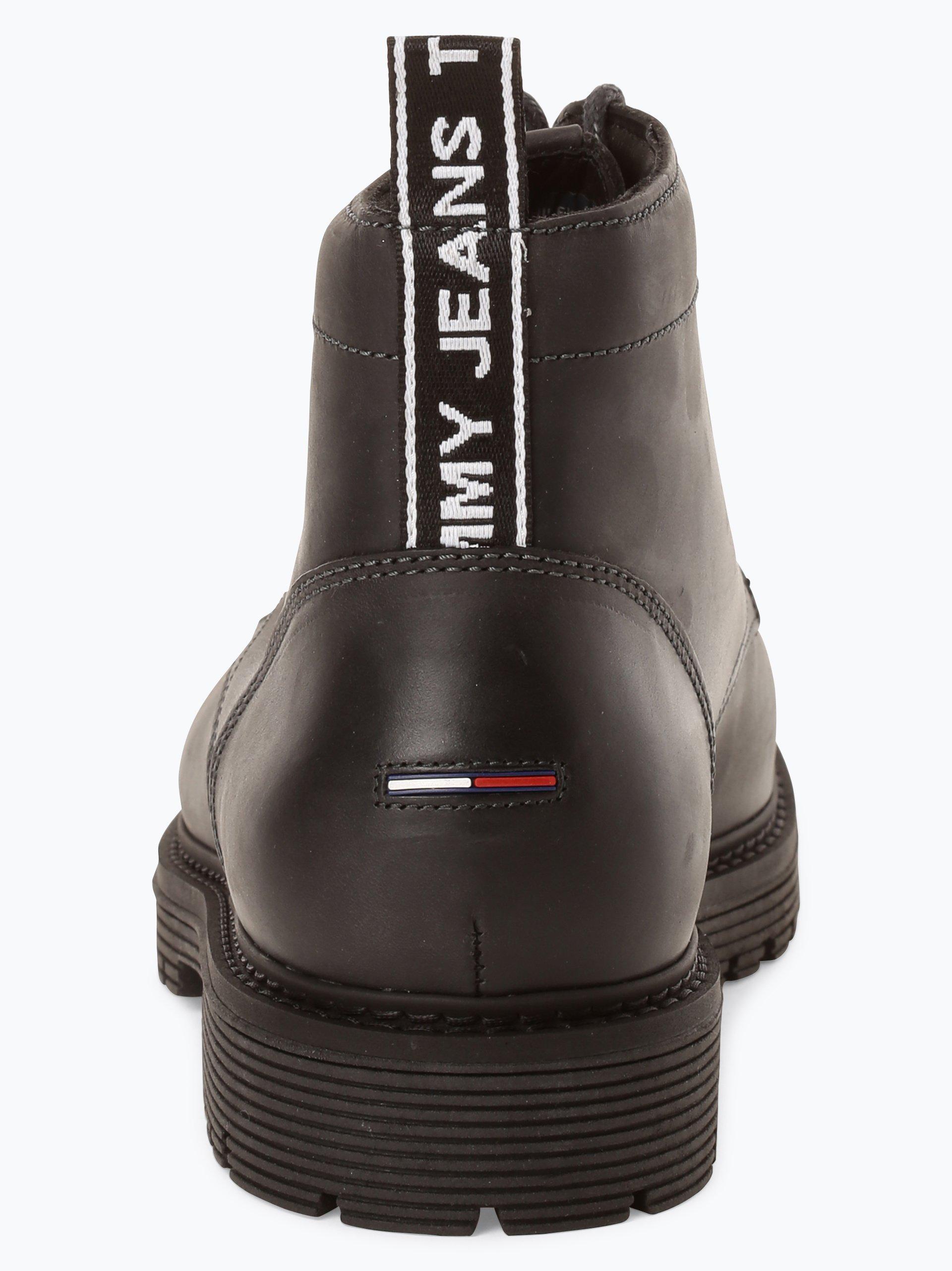 tommy jeans herren boots aus leder 2 online kaufen. Black Bedroom Furniture Sets. Home Design Ideas