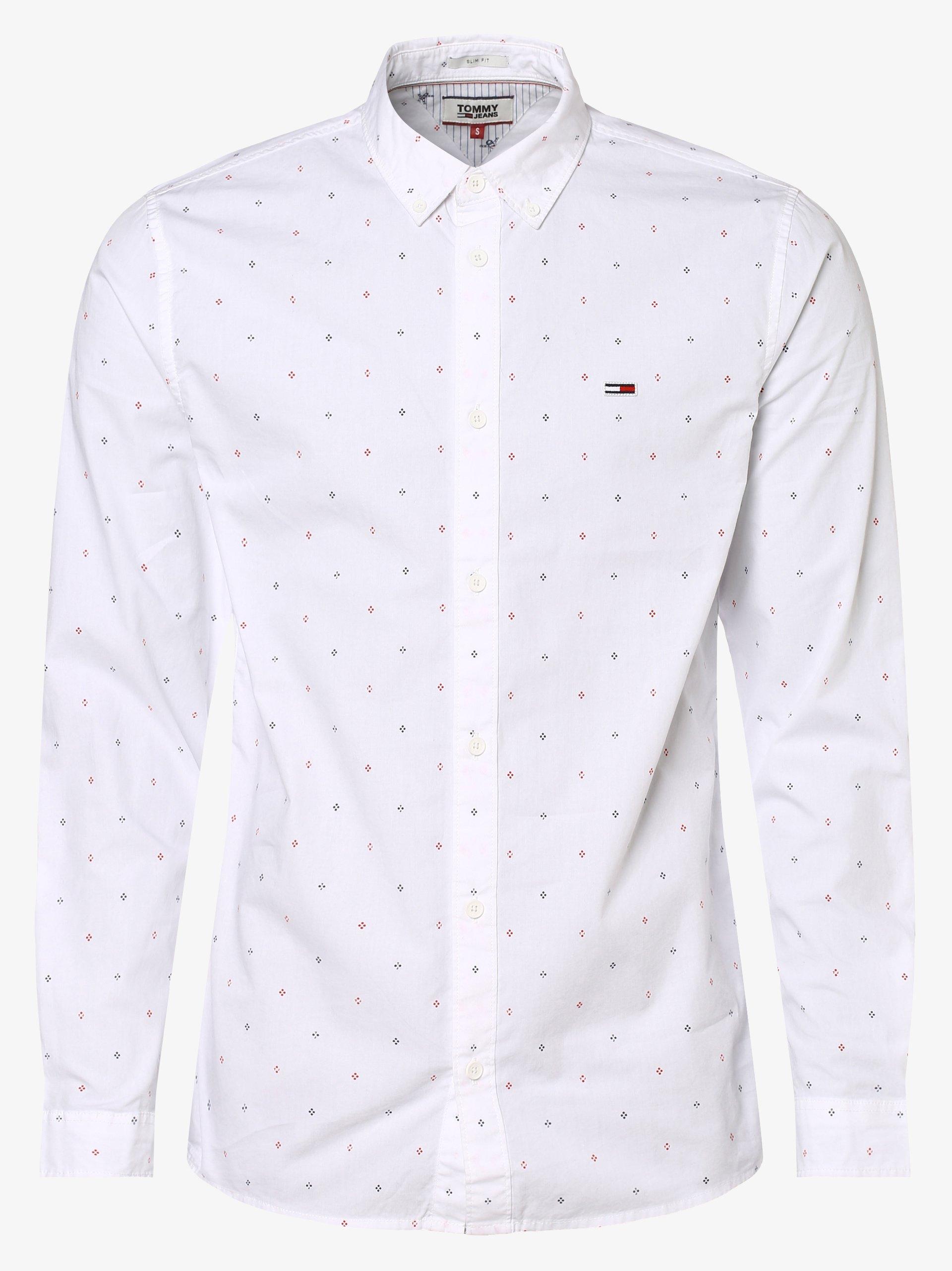 Tommy Jeans Herren Hemd - Ditsy