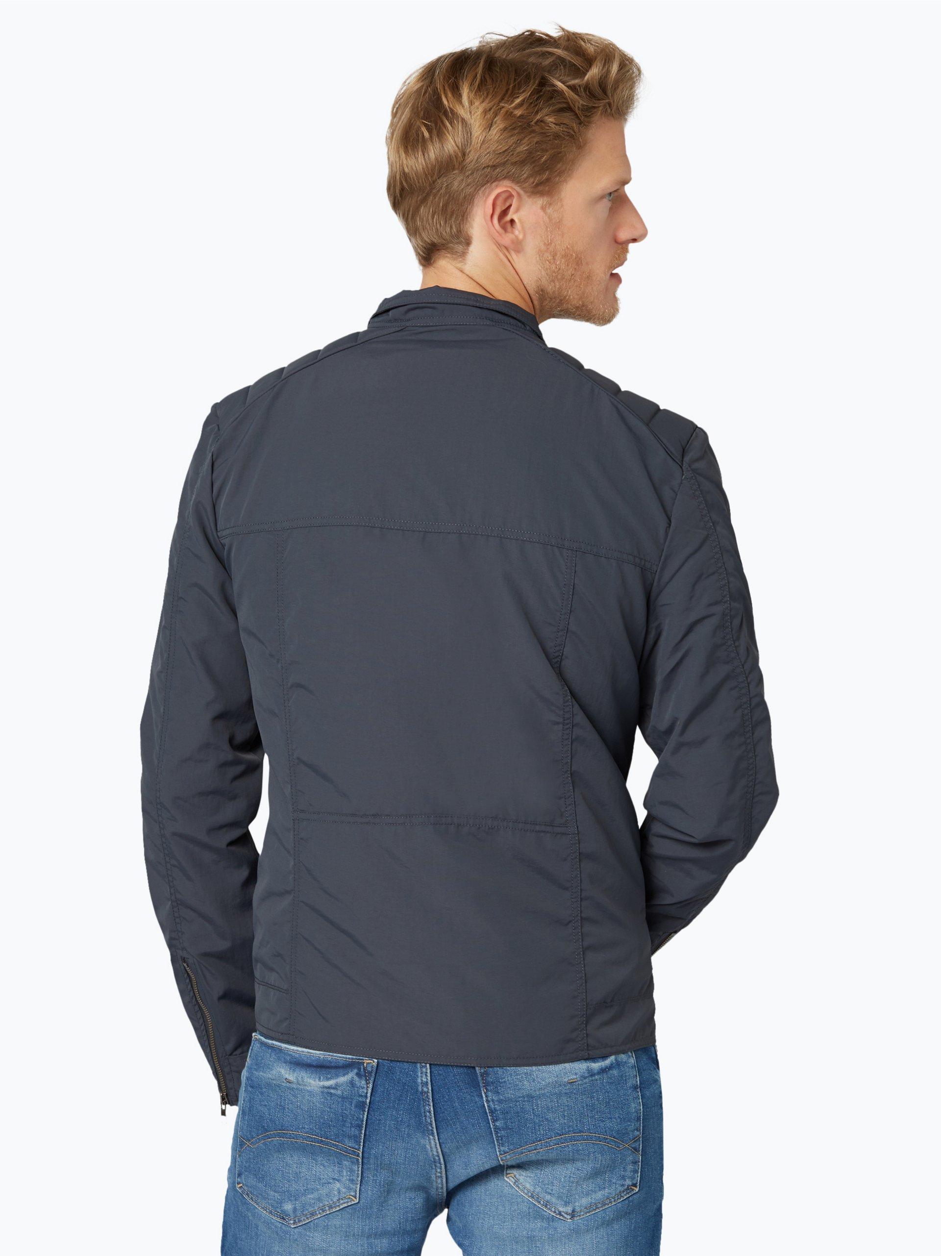 tommy jeans herren jacke grau uni online kaufen peek und. Black Bedroom Furniture Sets. Home Design Ideas