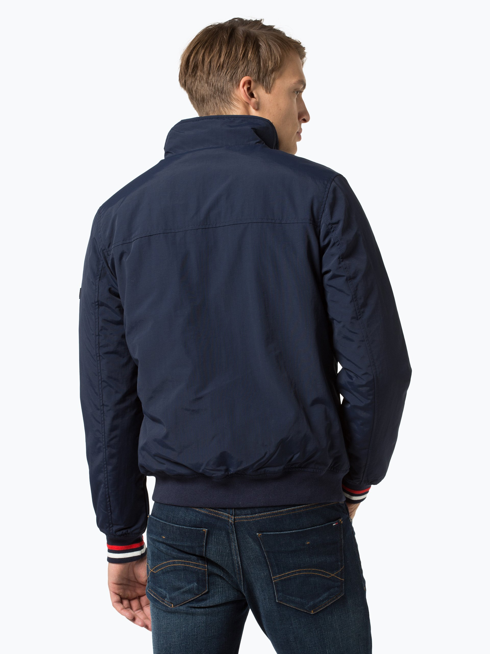 tommy jeans herren jacke marine uni online kaufen peek. Black Bedroom Furniture Sets. Home Design Ideas