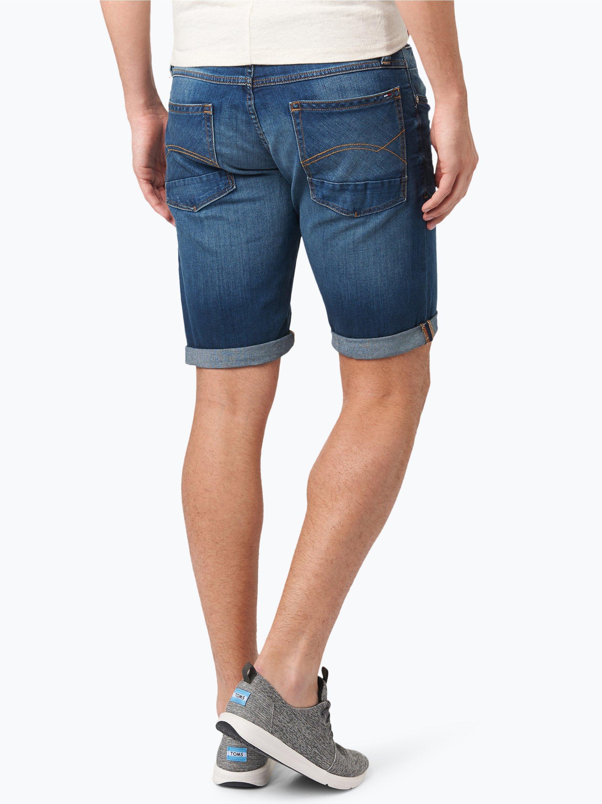 tommy jeans herren jeans bermuda ronnie hellblau blau uni online kaufen vangraaf com. Black Bedroom Furniture Sets. Home Design Ideas