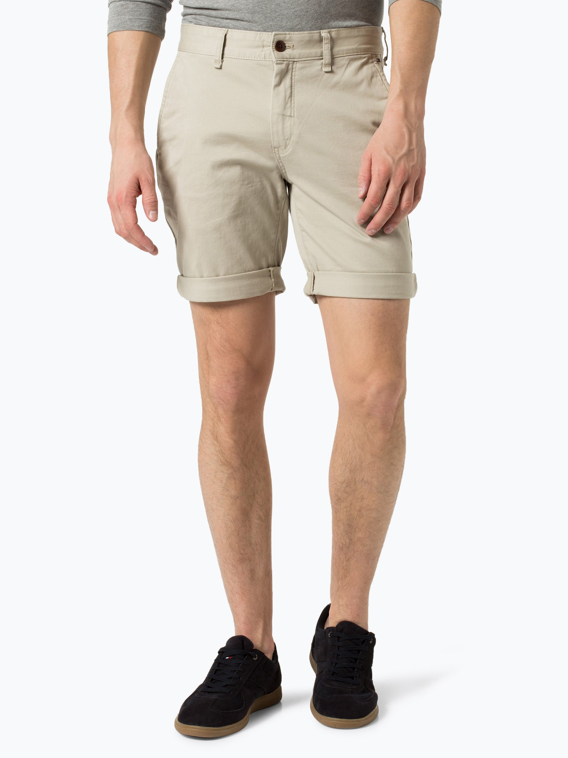 tommy jeans herren shorts beige uni online kaufen peek und cloppenburg de. Black Bedroom Furniture Sets. Home Design Ideas