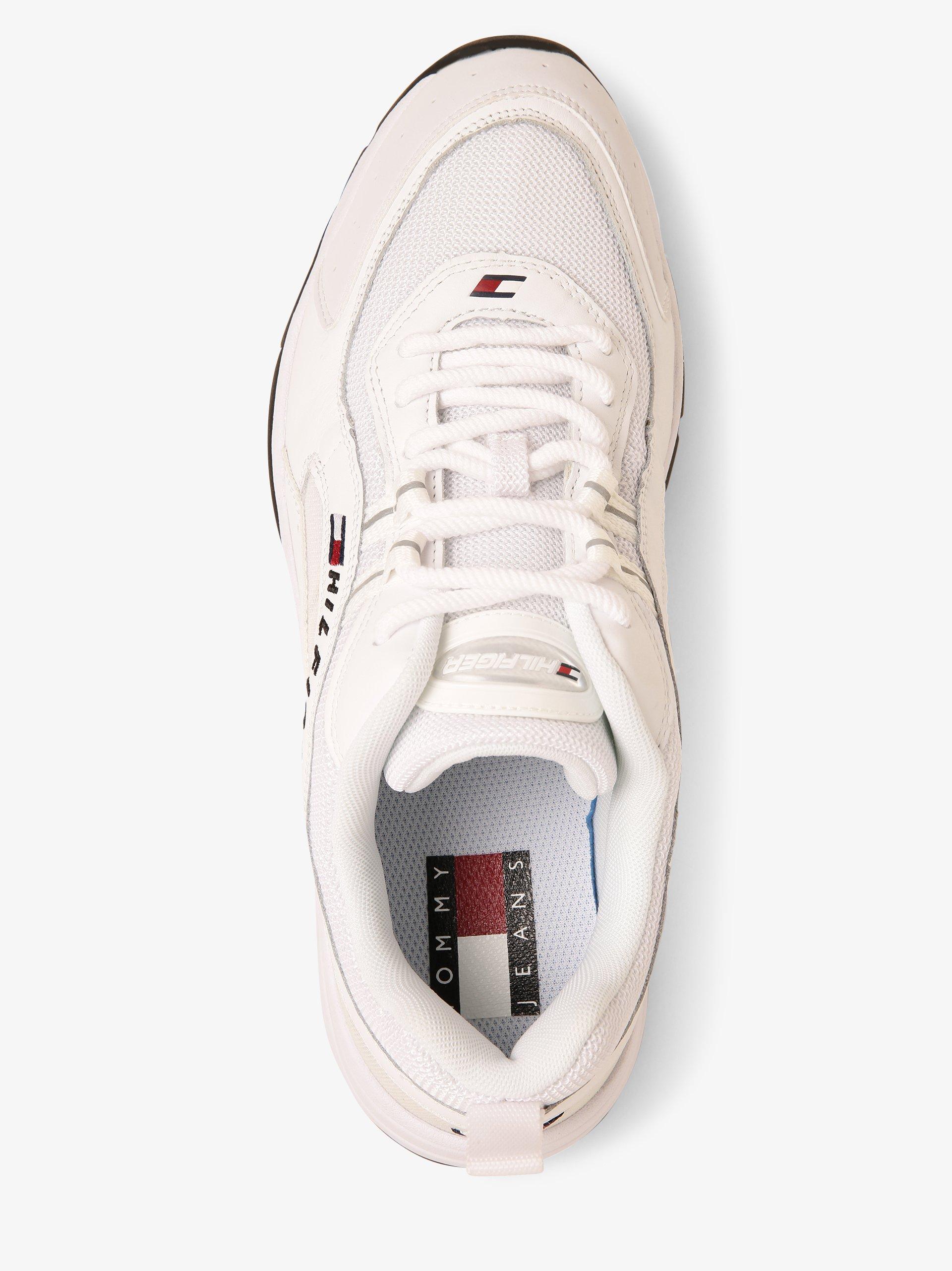 Tommy Jeans Herren Sneaker mit Leder-Anteil
