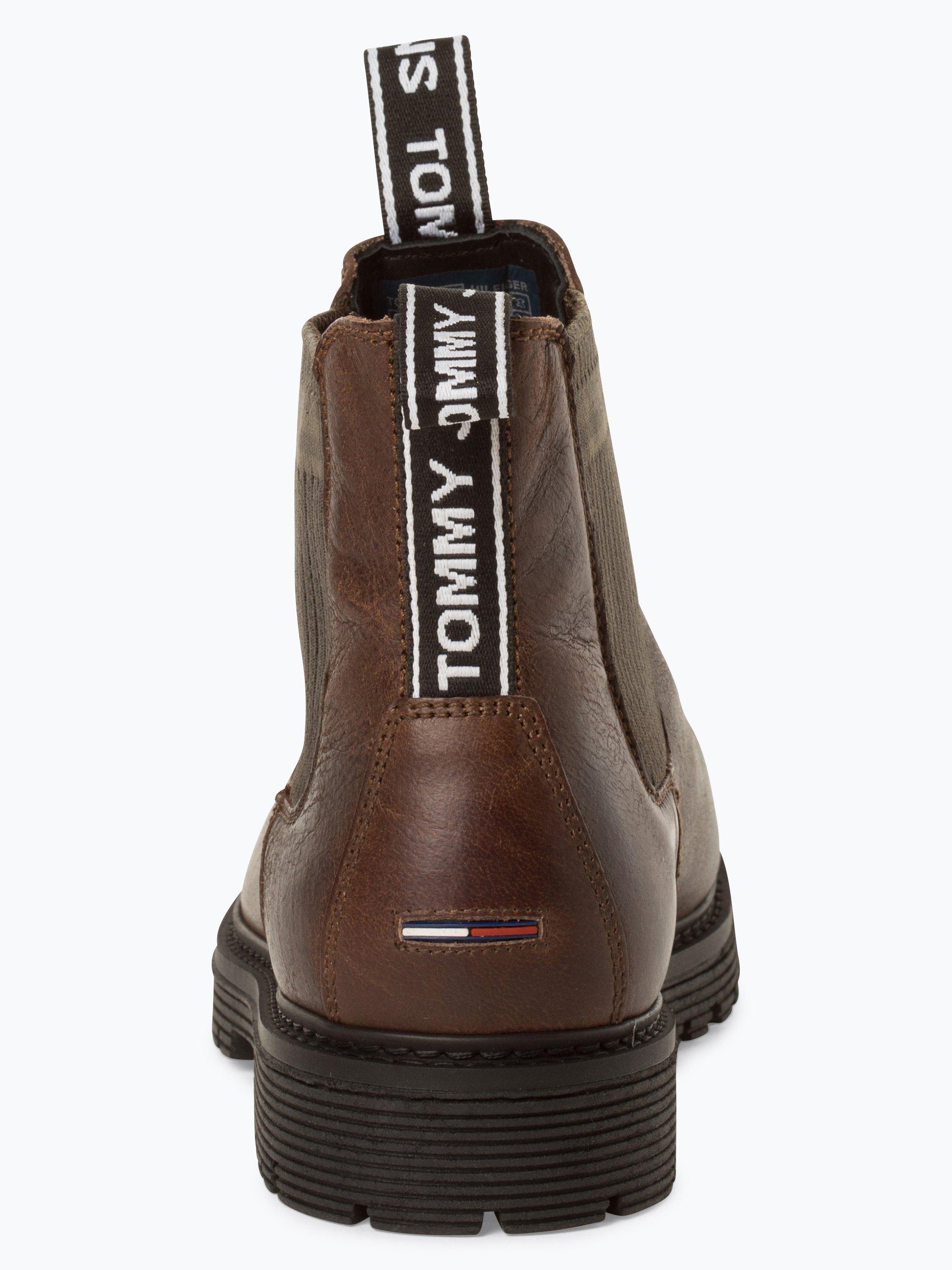 Tommy Jeans Herren Stiefeletten aus Leder