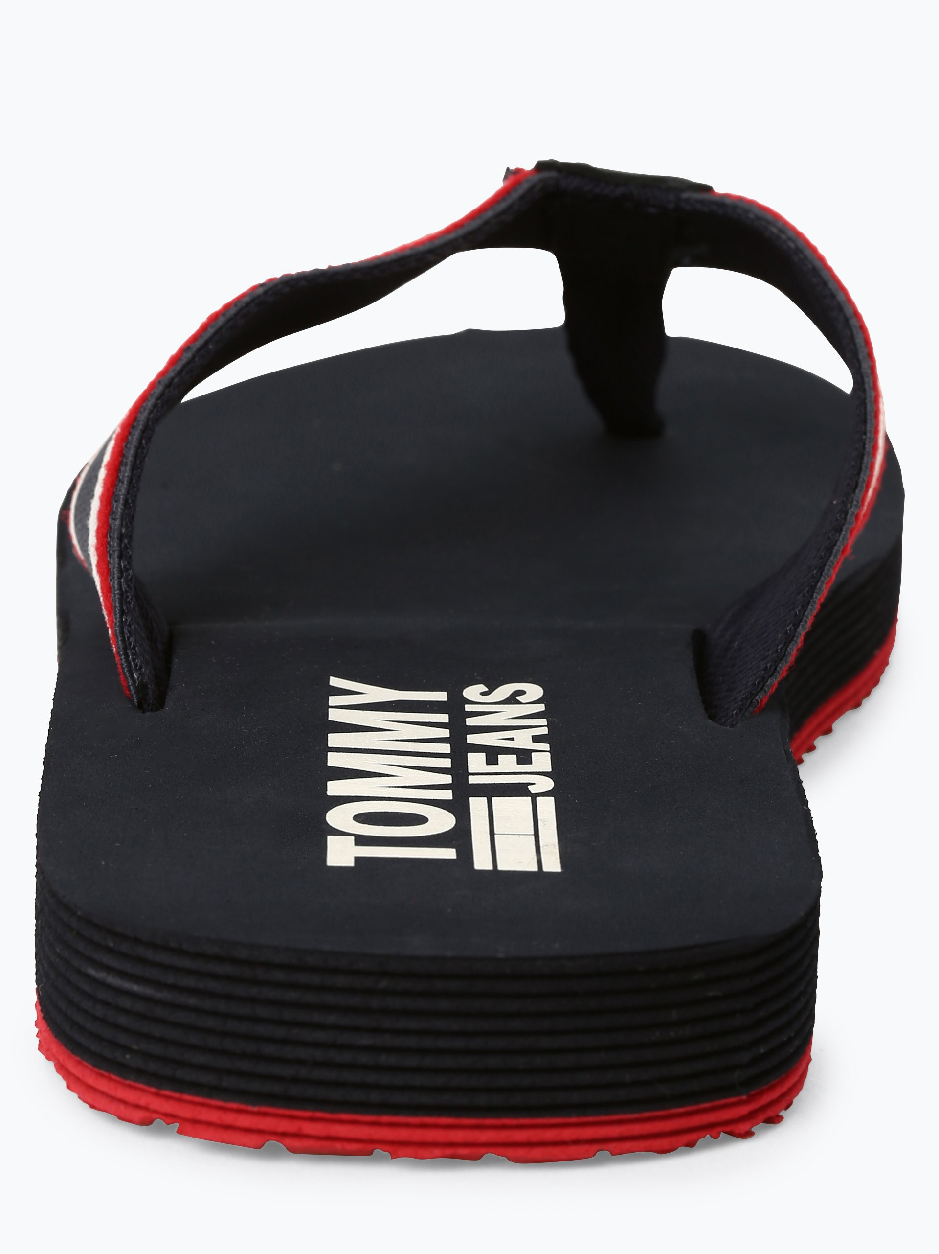 Tommy Jeans Herren Zehentrenner mit Leder-Anteil
