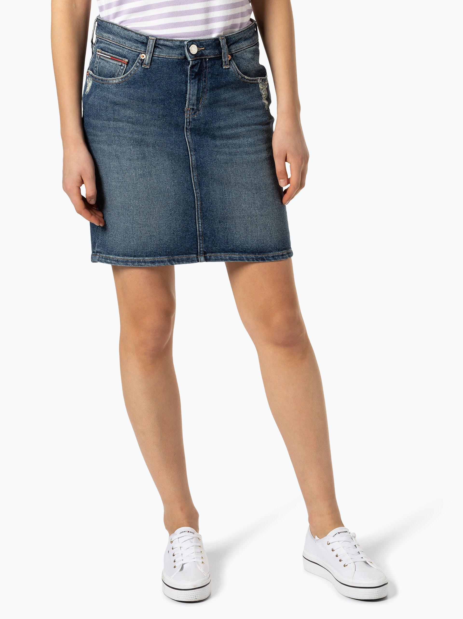 Tommy Jeans Jeansowa spódnica damska