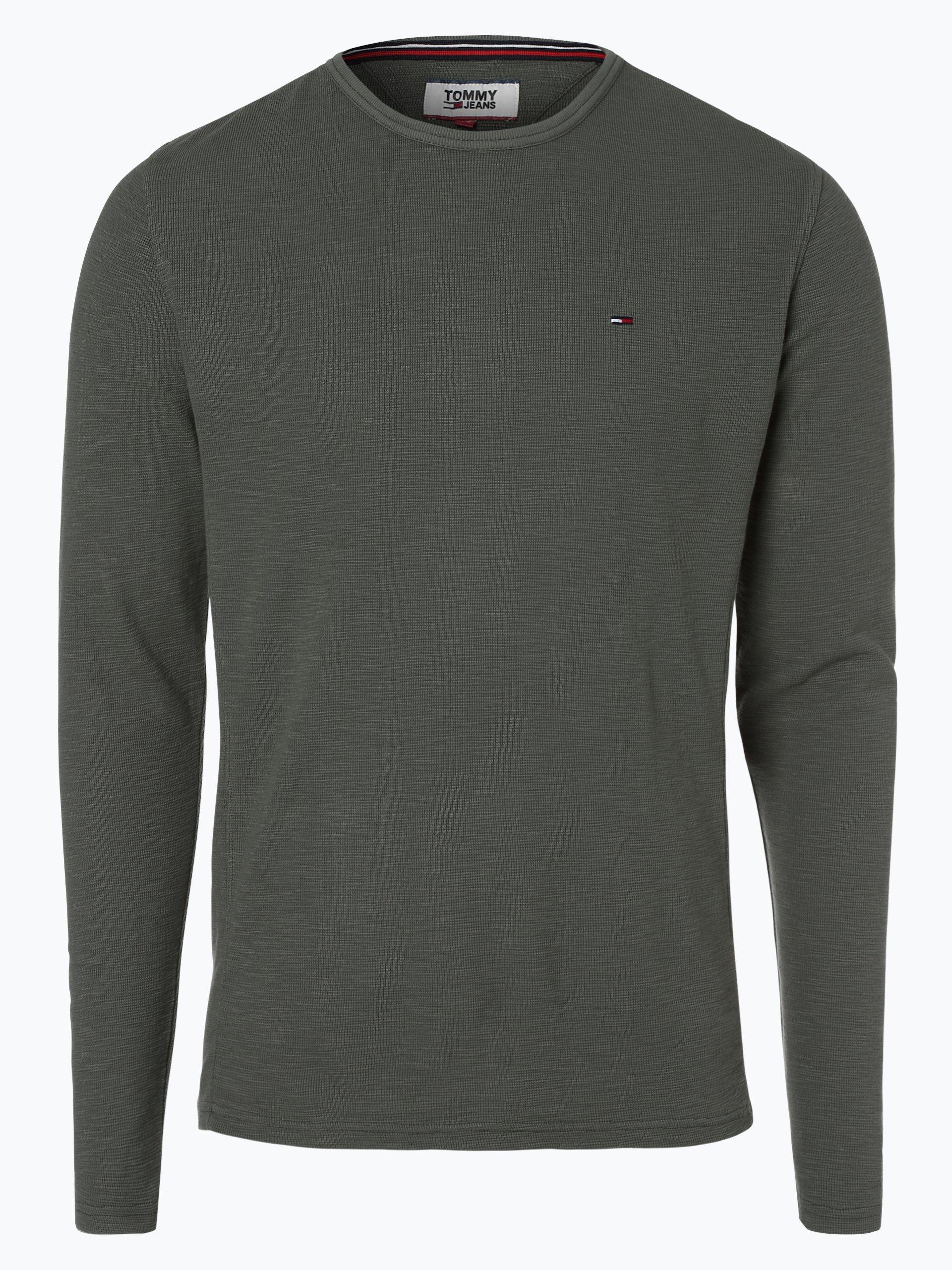 Tommy Jeans Męska koszulka z długim rękawem