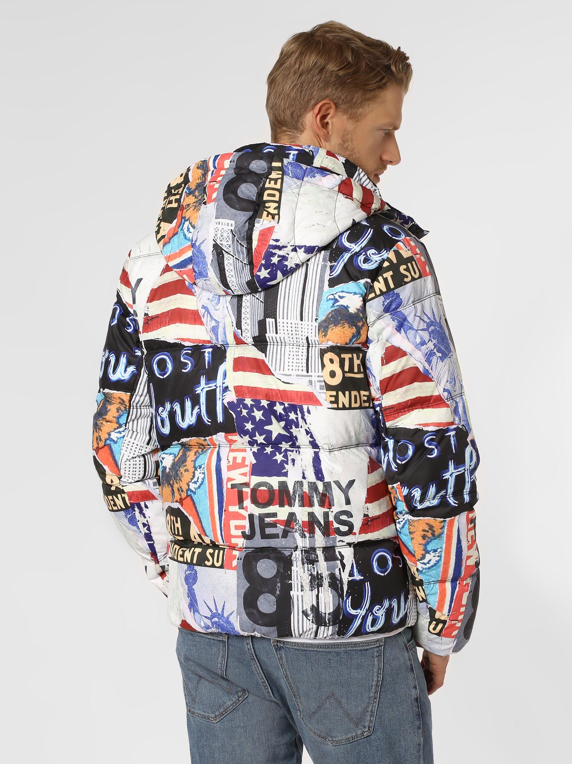 Tommy Jeans Męska kurtka pikowana