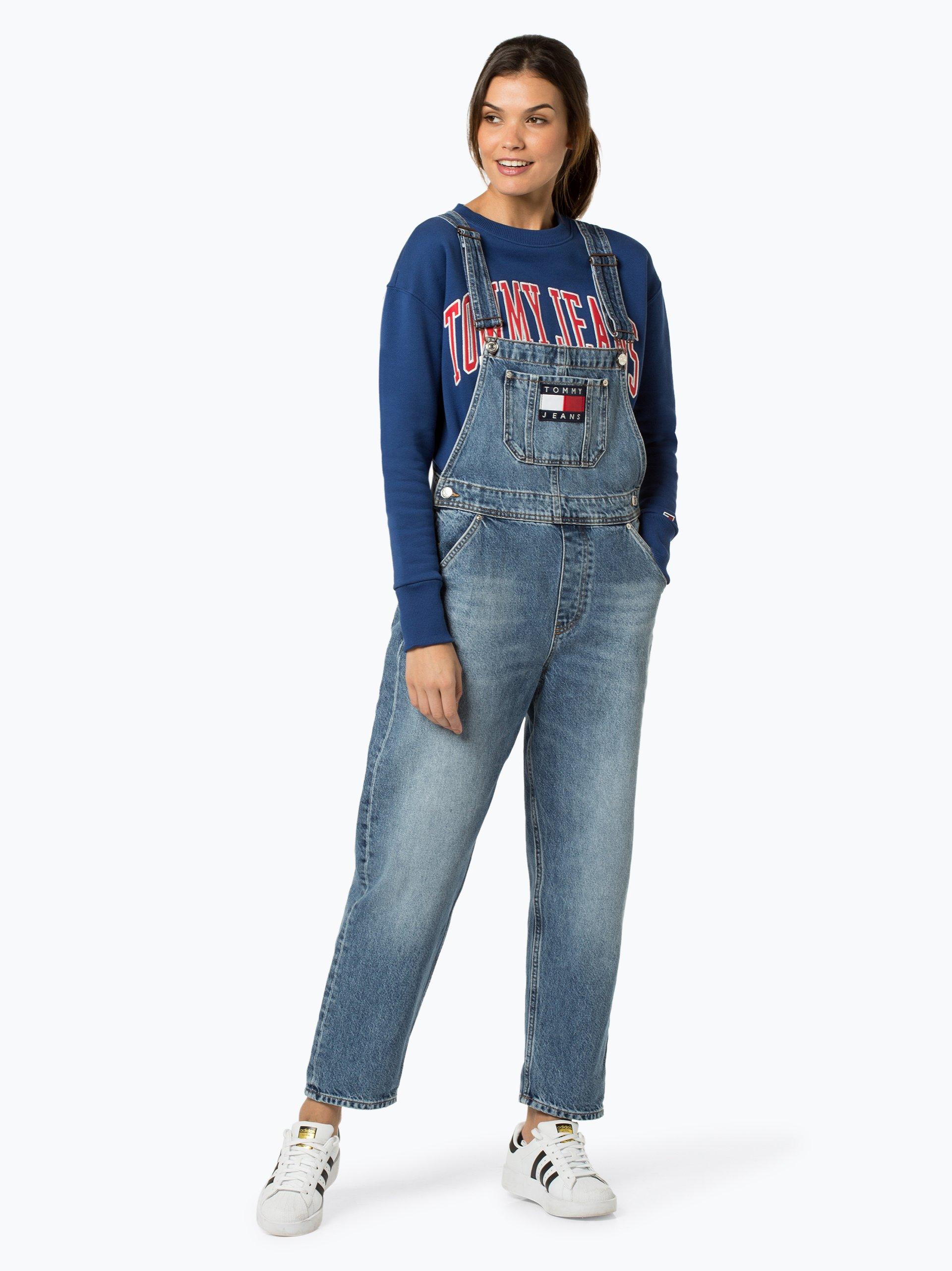 tommy jeans ogrodniczki damskie kup online vangraafcom