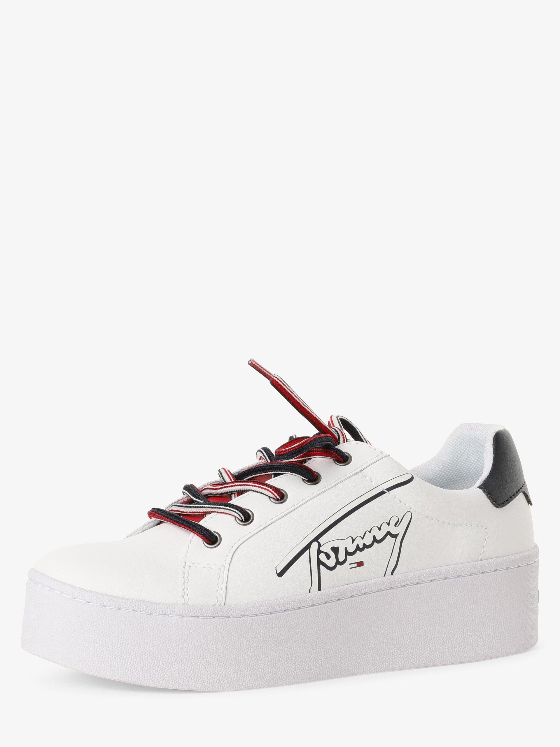Tommy Jeans Tenisówki damskie z dodatkiem skóry