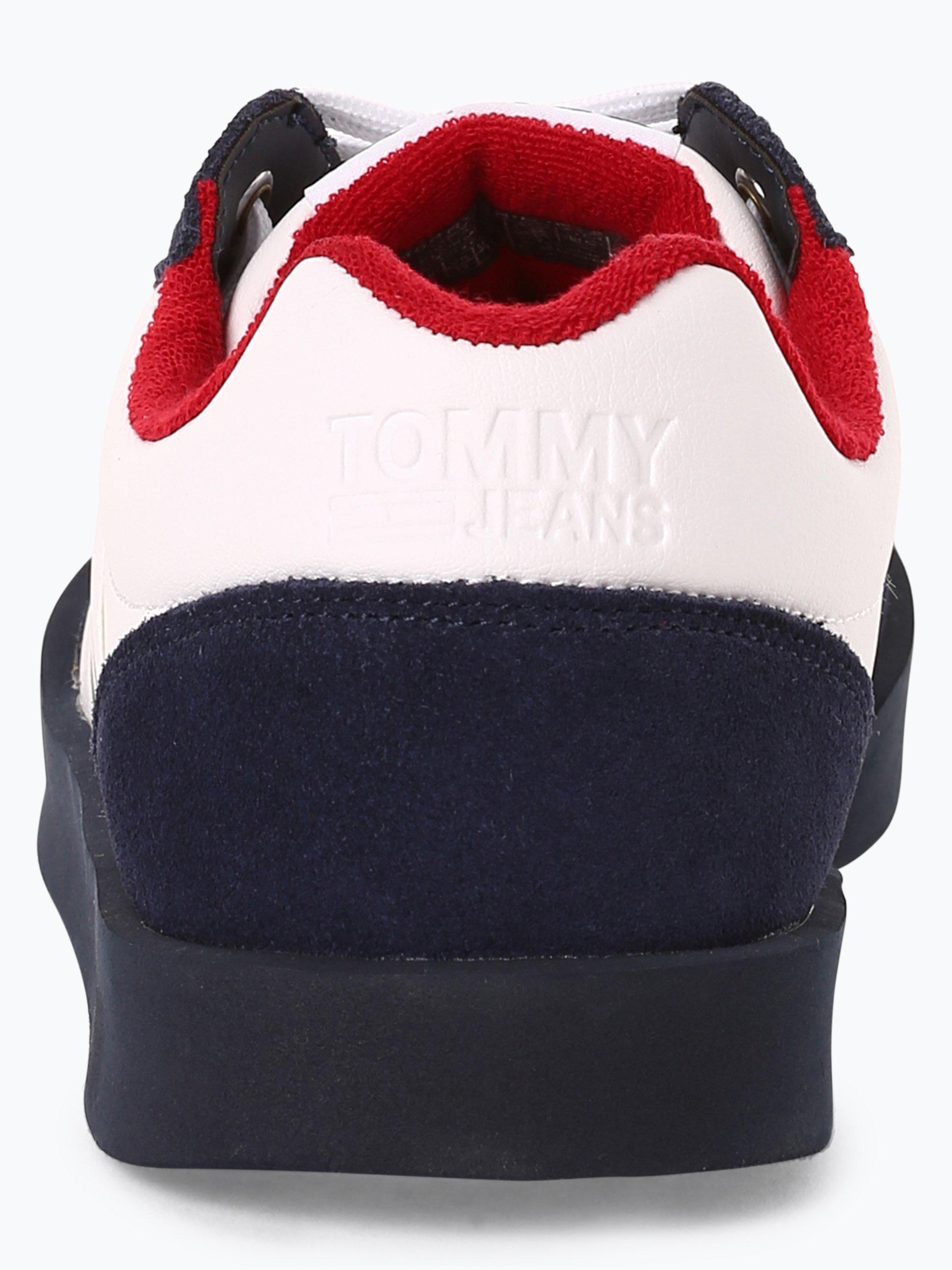Tommy Jeans Tenisówki męskie z dodatkiem skóry