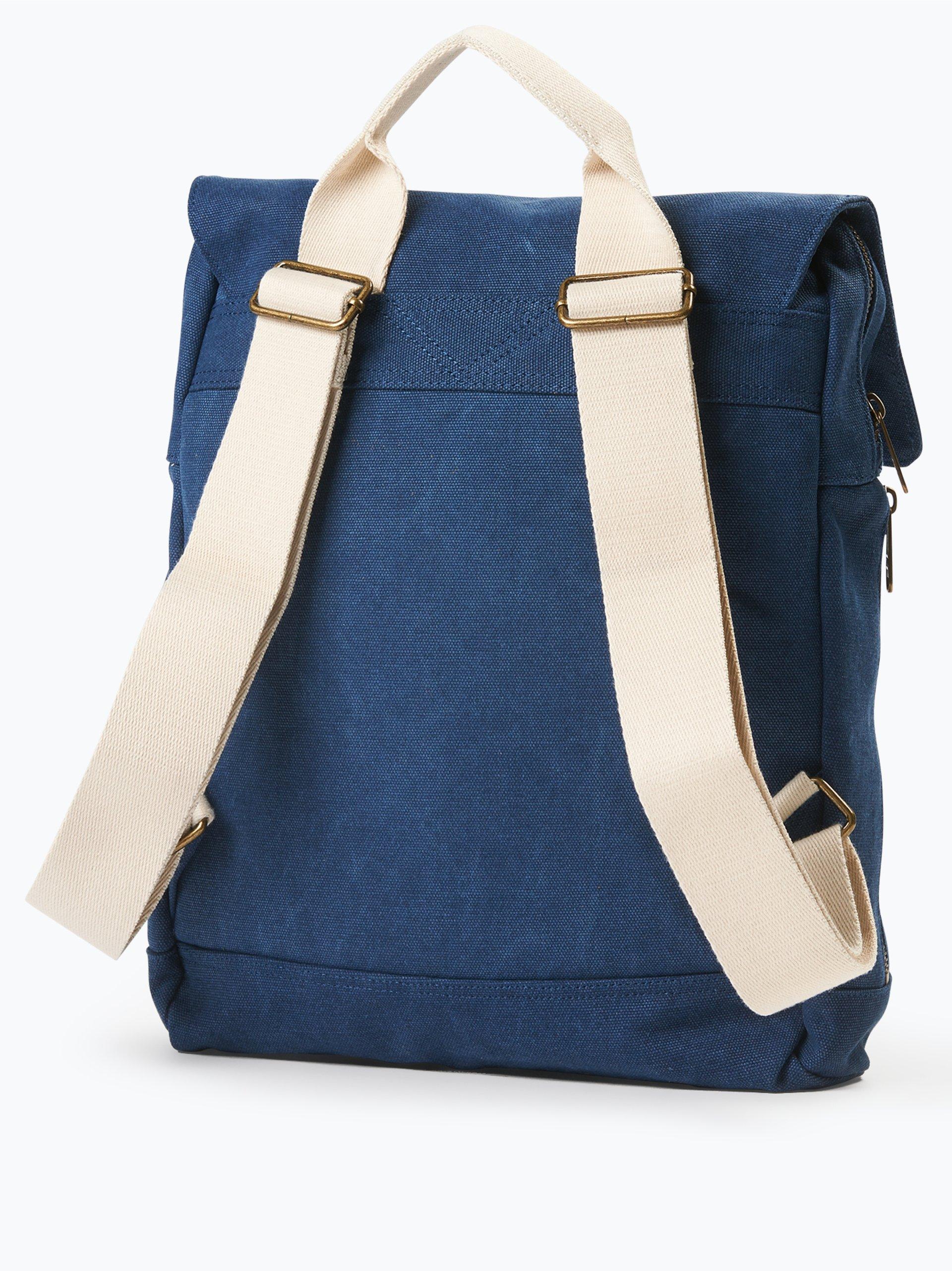 toms damen rucksack trekker canvas backpack marine uni. Black Bedroom Furniture Sets. Home Design Ideas