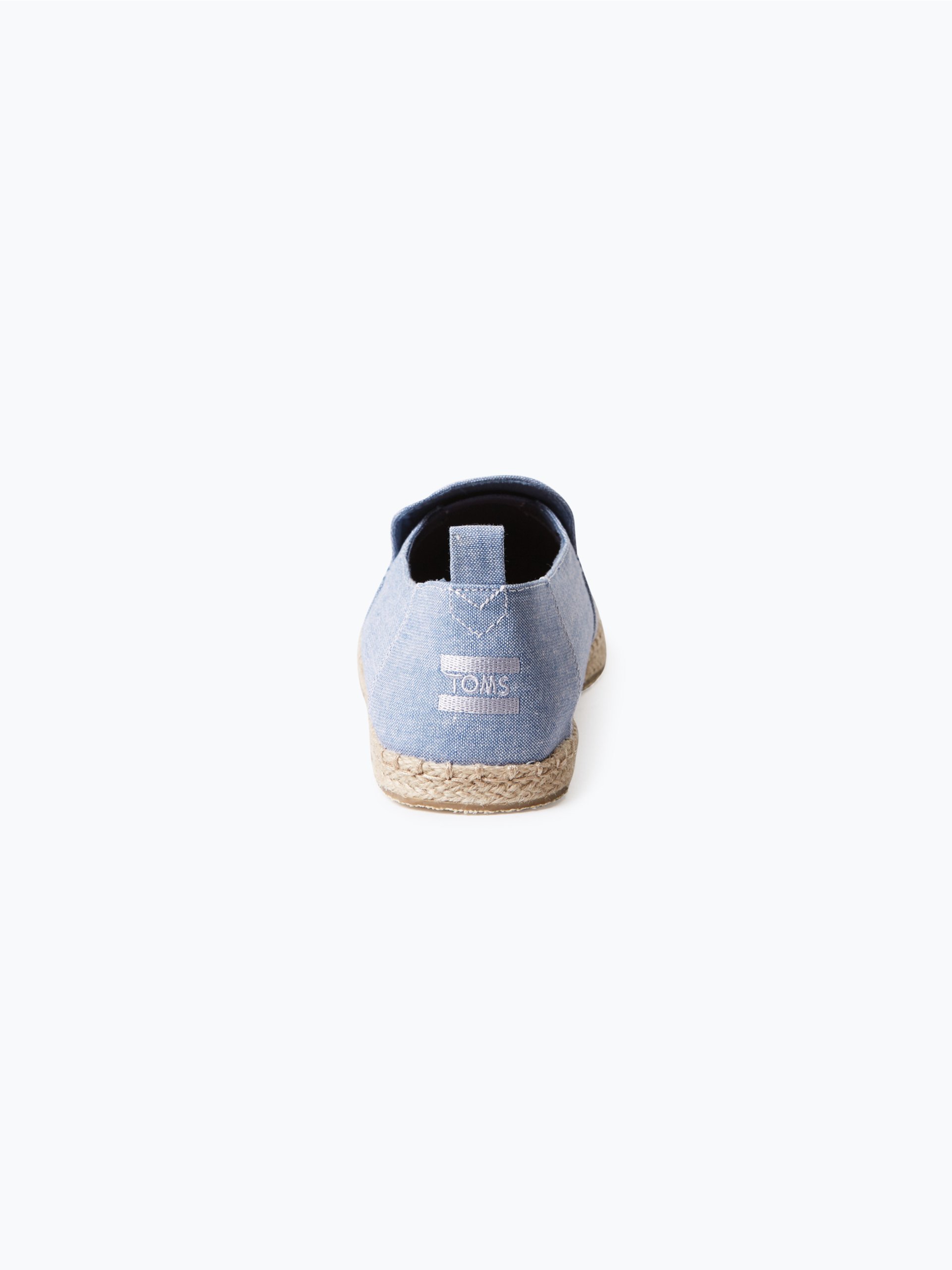 toms herren espadrilles blau uni online kaufen peek und cloppenburg de. Black Bedroom Furniture Sets. Home Design Ideas