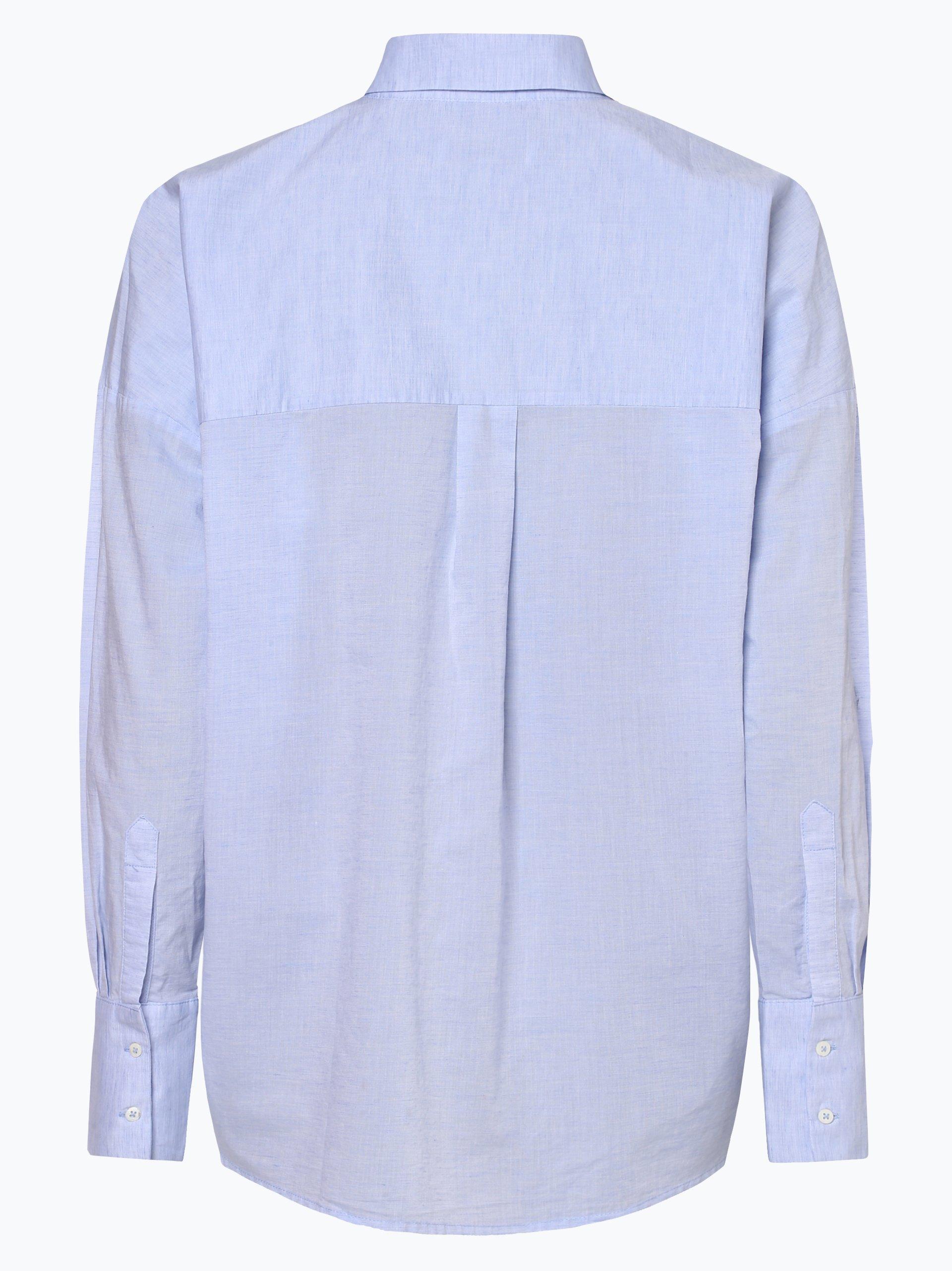 Tonno & Panna Damen Bluse mit Leinen-Anteil