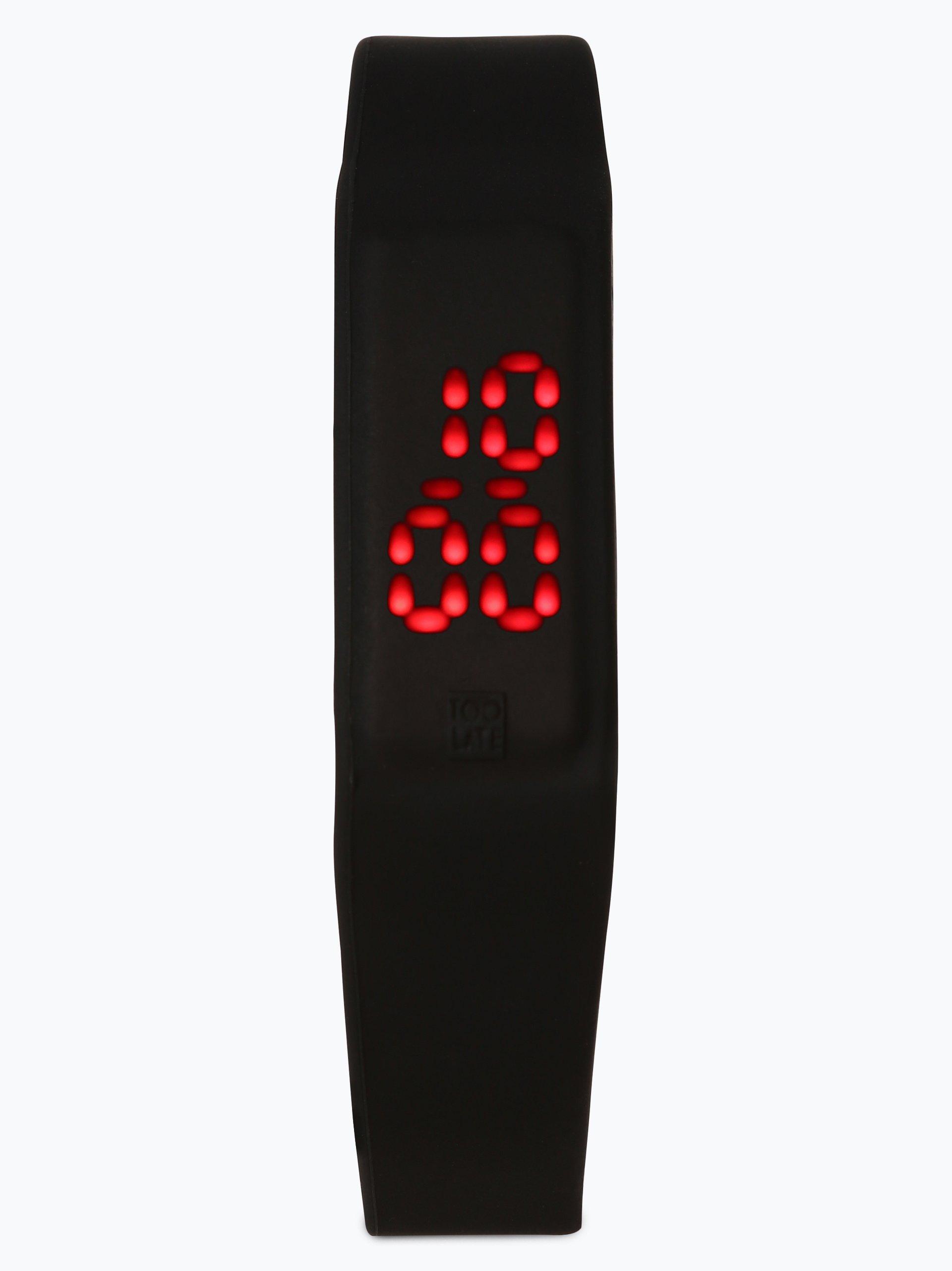 TOO LATE Zegarek z wyświetlaczem LED