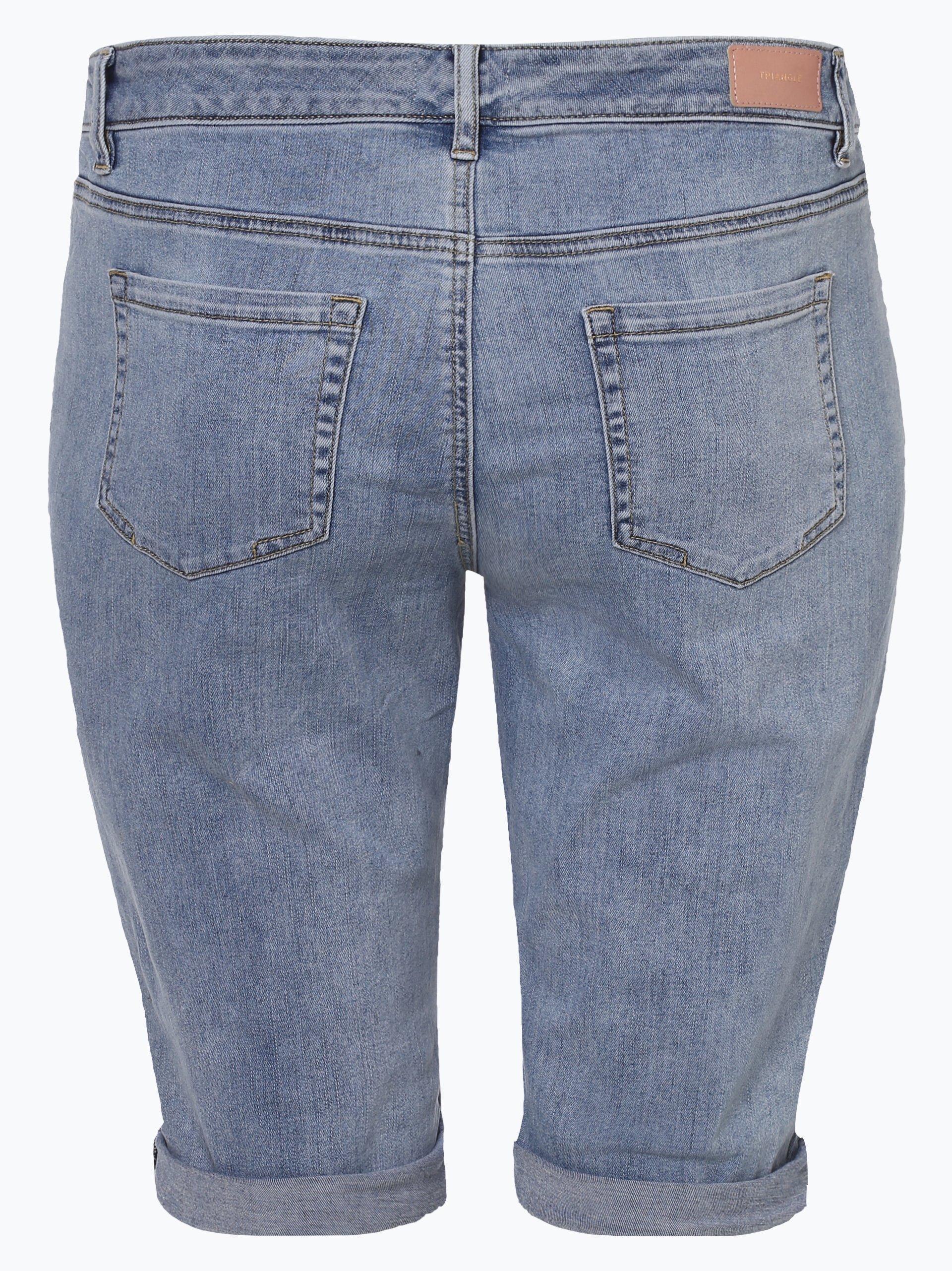 Triangle Damen Jeansshorts