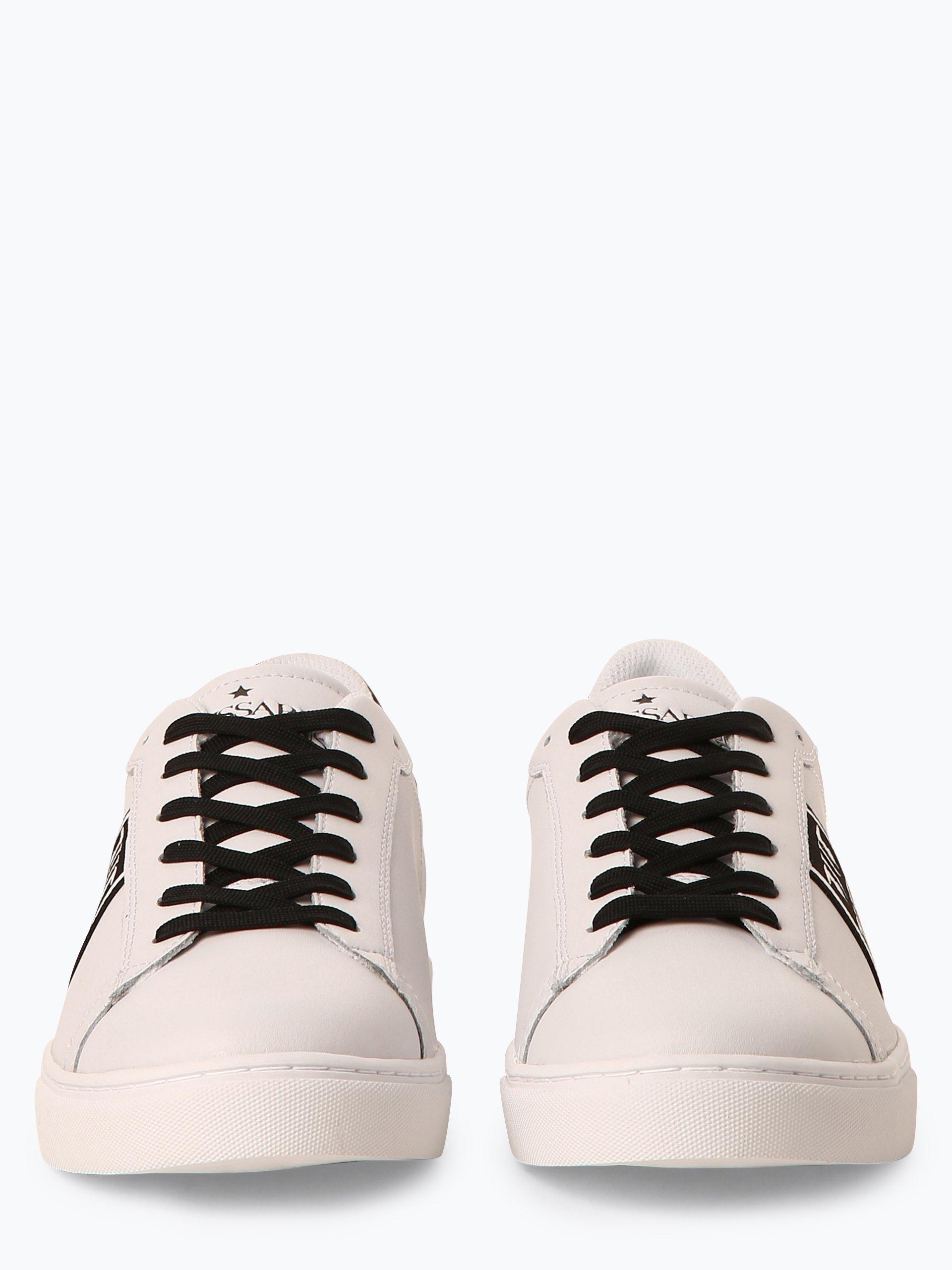 Trussadi Jeans Herren Sneaker aus Leder