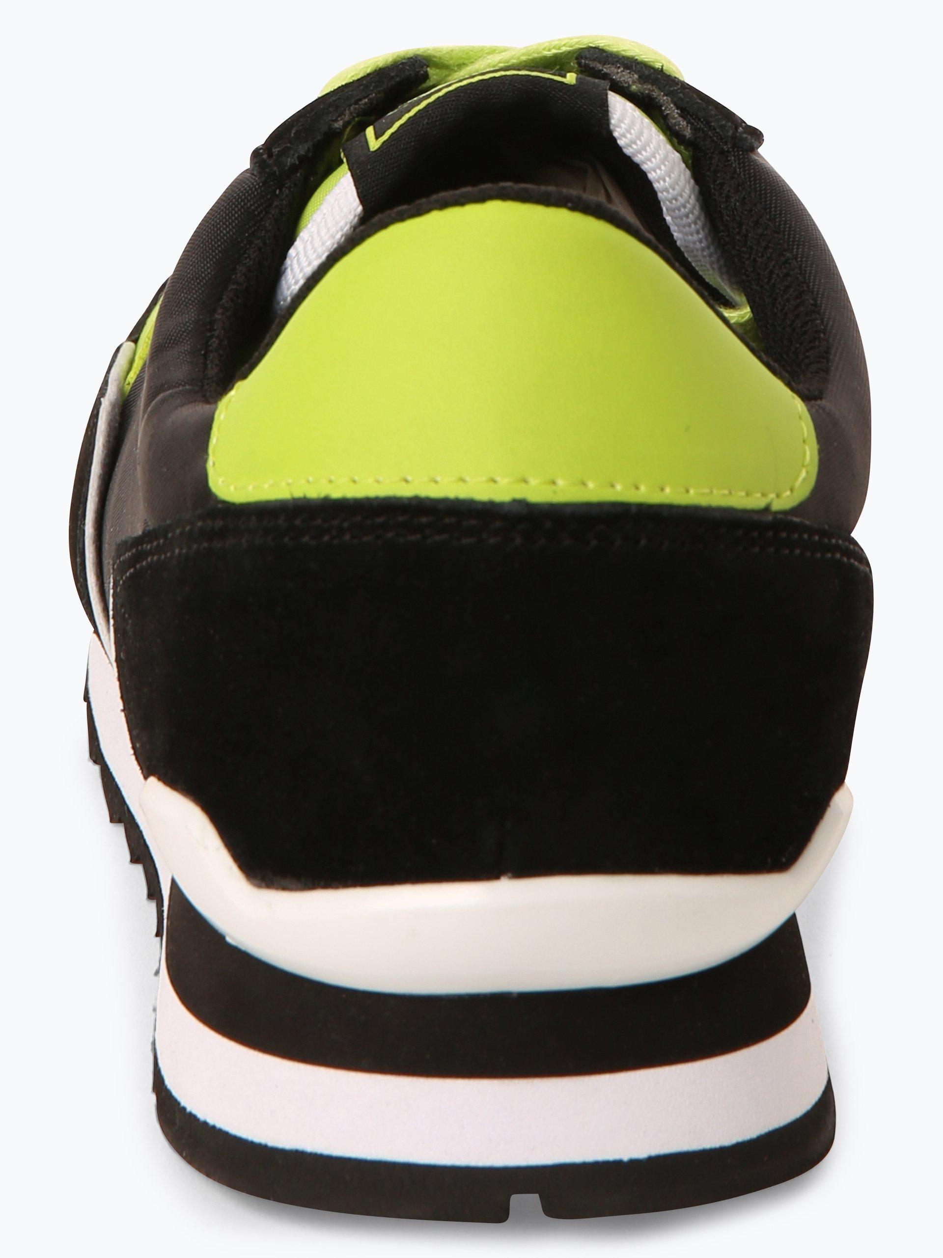 Trussadi Jeans Herren Sneaker mit Leder-Anteil