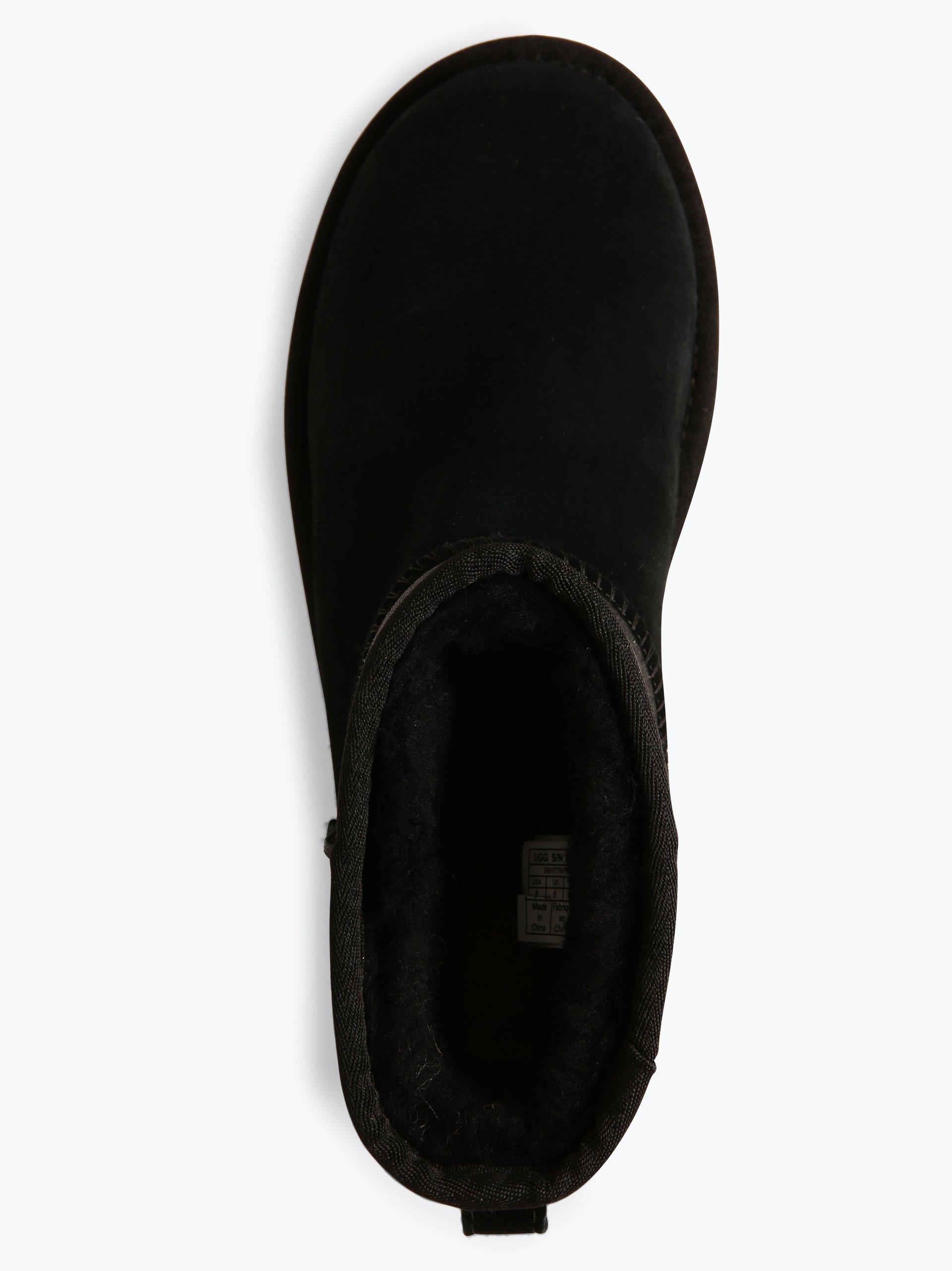 UGG Damen Boots aus Leder - Classic Mini Sparkle