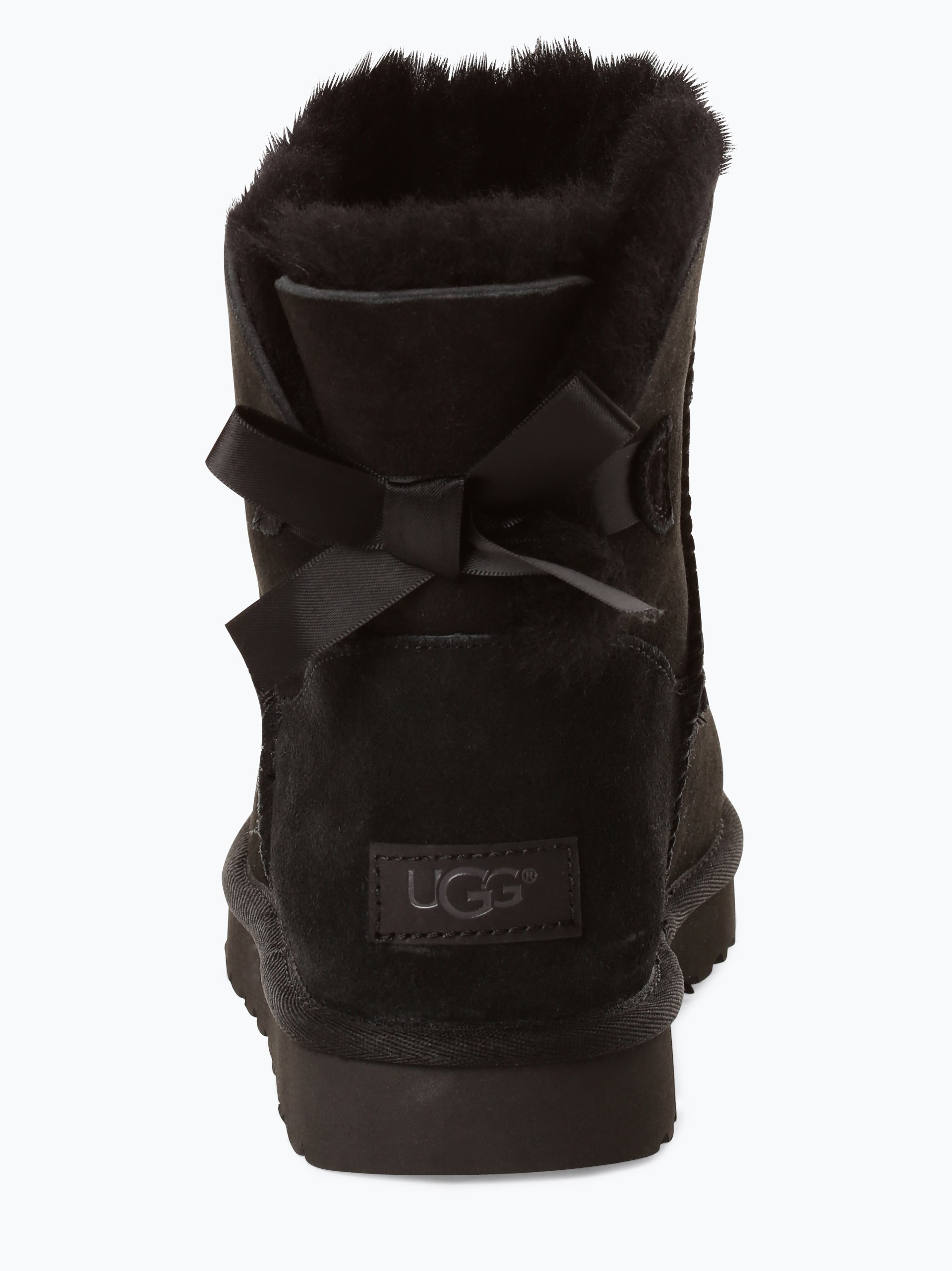 UGG Damen Boots aus Leder - Mini Bailey Bow II