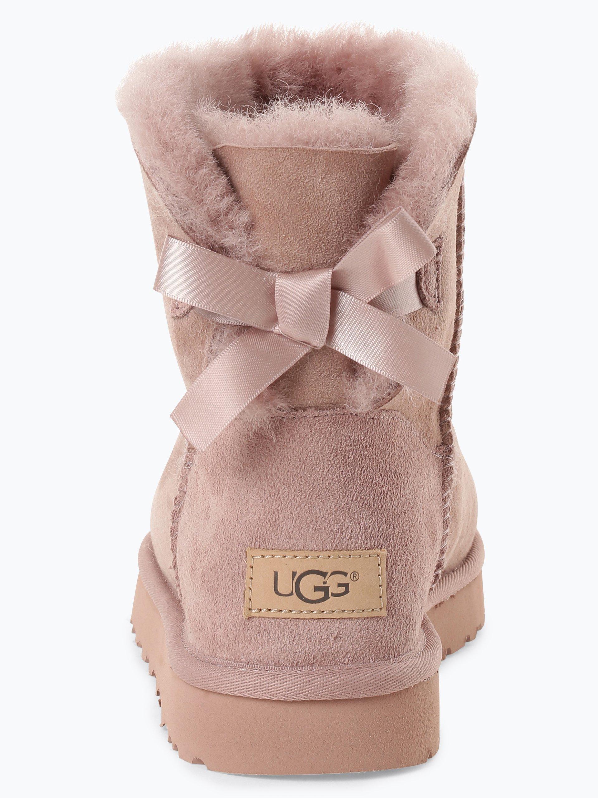 UGG Damen Boots aus Leder - Mini Bailey Bow II