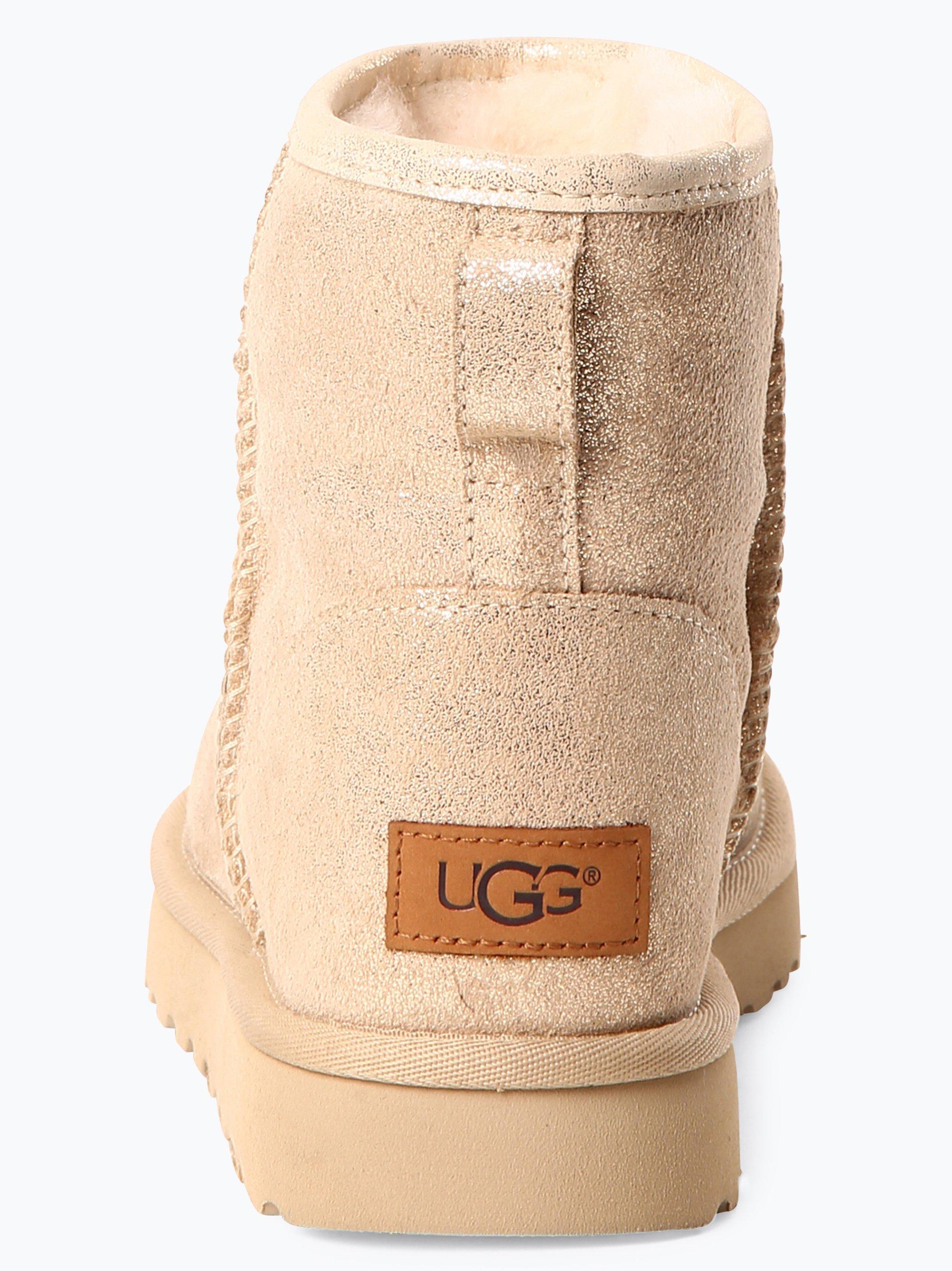 UGG Damen Stiefeletten aus Leder - Classic Mini II Stardust