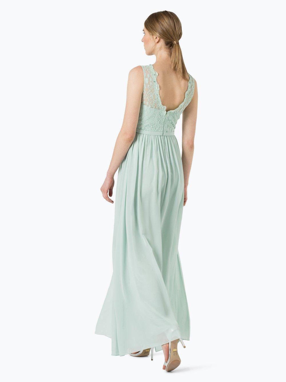 Unique Damen Abendkleid mit Stola mint uni online kaufen | PEEK-UND ...