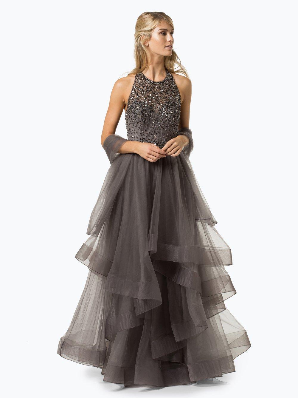 unique damen abendkleid mit stola online kaufen   vangraaf