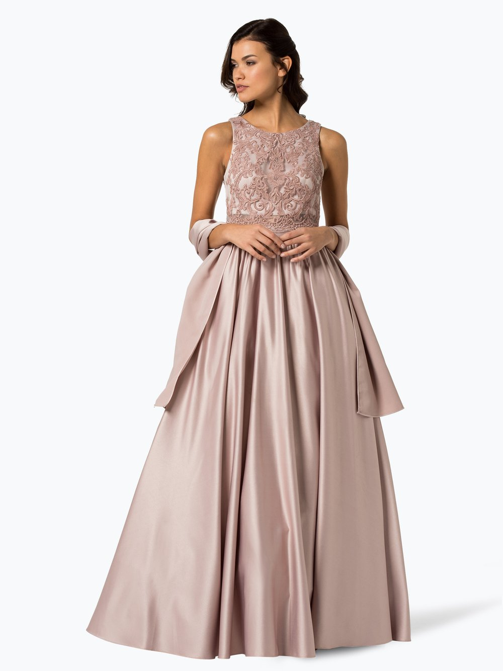 Unique Damen Abendkleid mit Stola online kaufen   PEEK UND ...