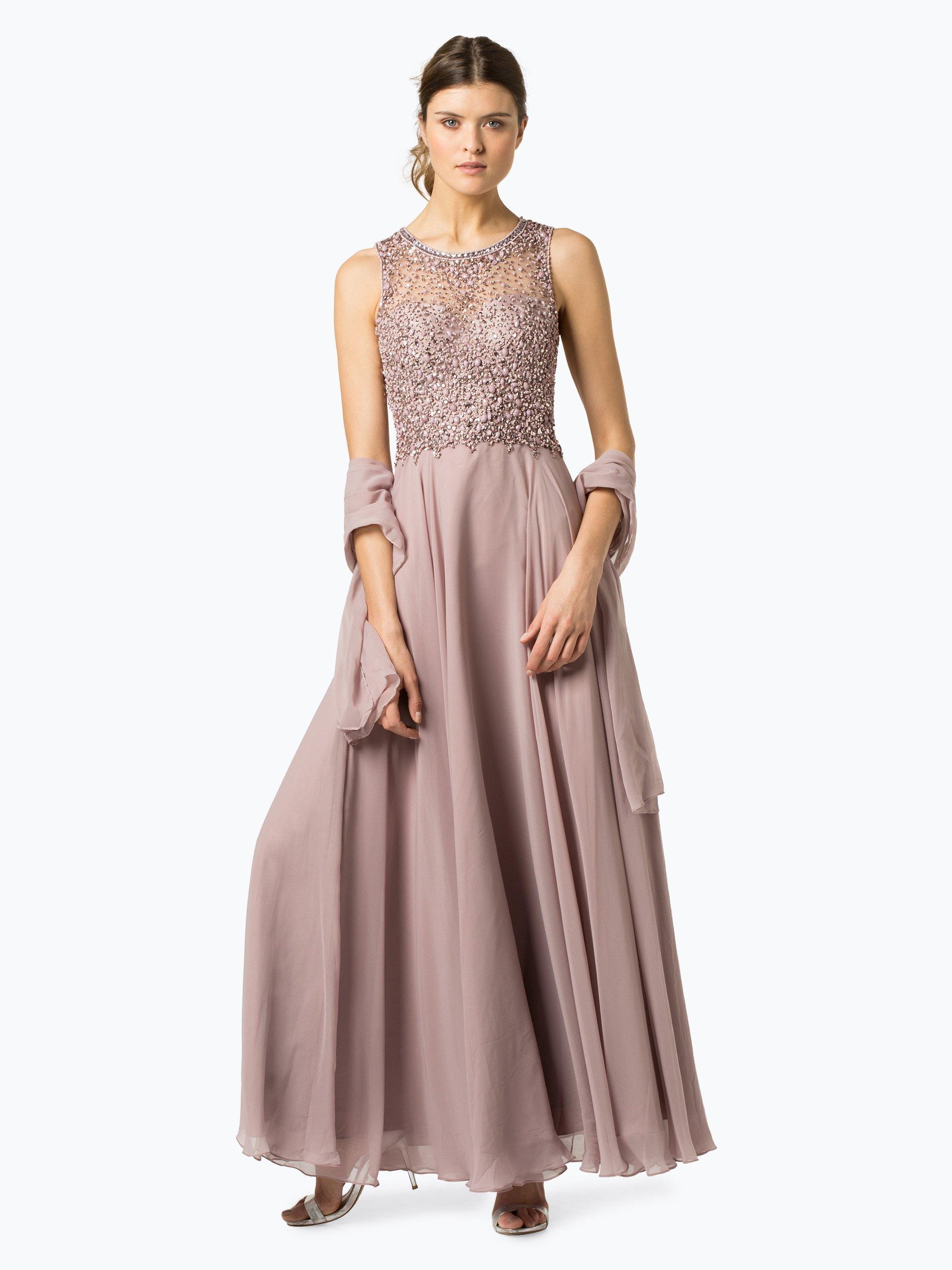 Unique Damen Abendkleid mit Stola