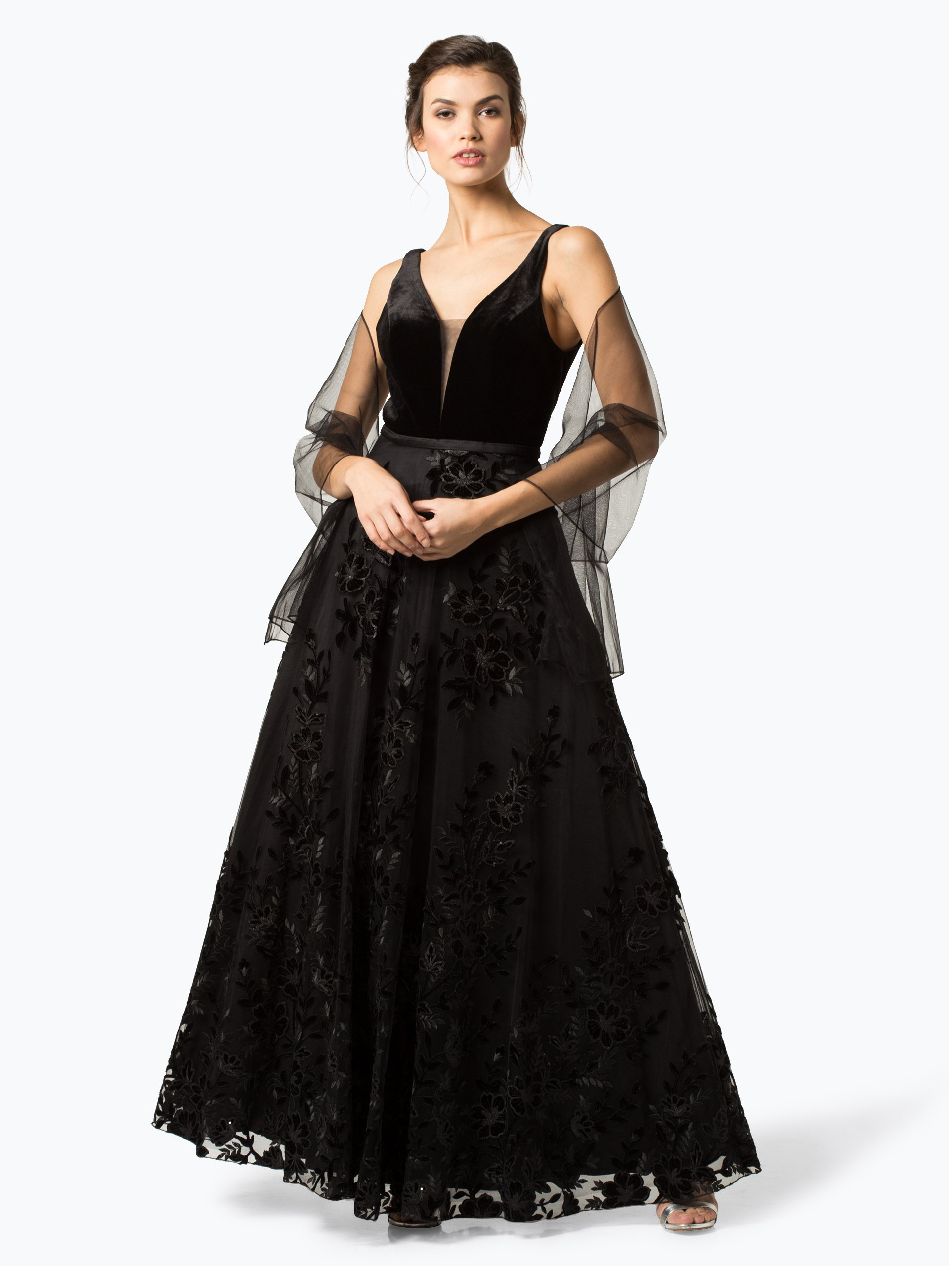 Unique Damen Abendkleid mit Stola