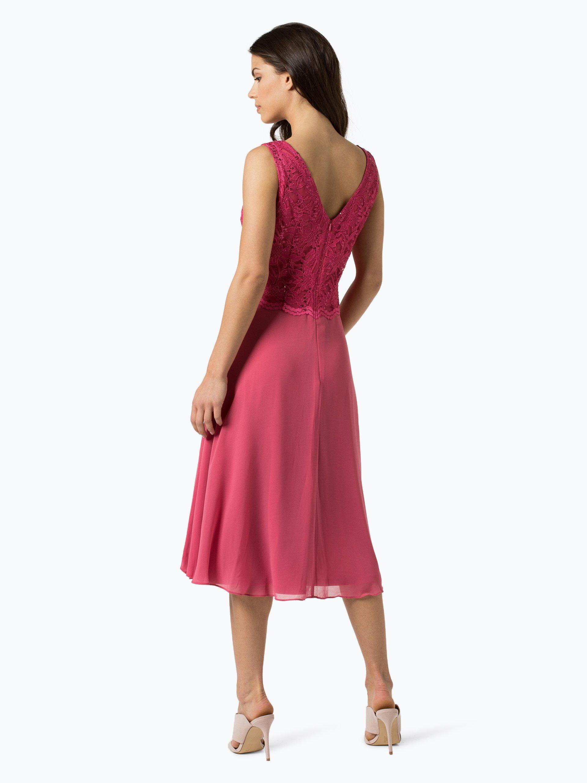 vera mont collection damen abendkleid pink uni online. Black Bedroom Furniture Sets. Home Design Ideas