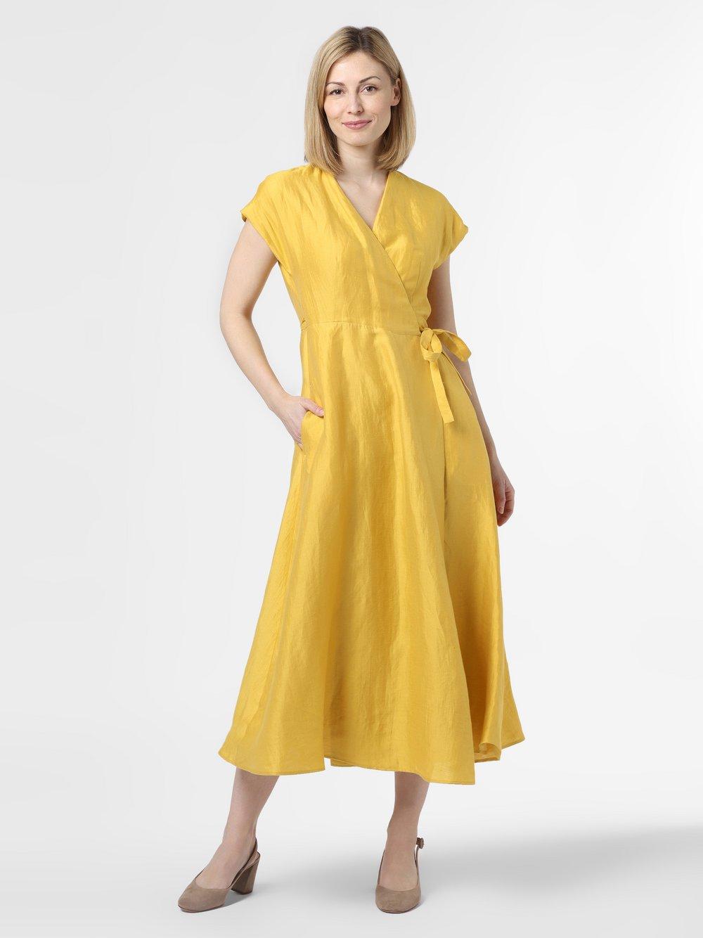 Damen Kleid aus Leinen-Seiden-Mix - Terreno
