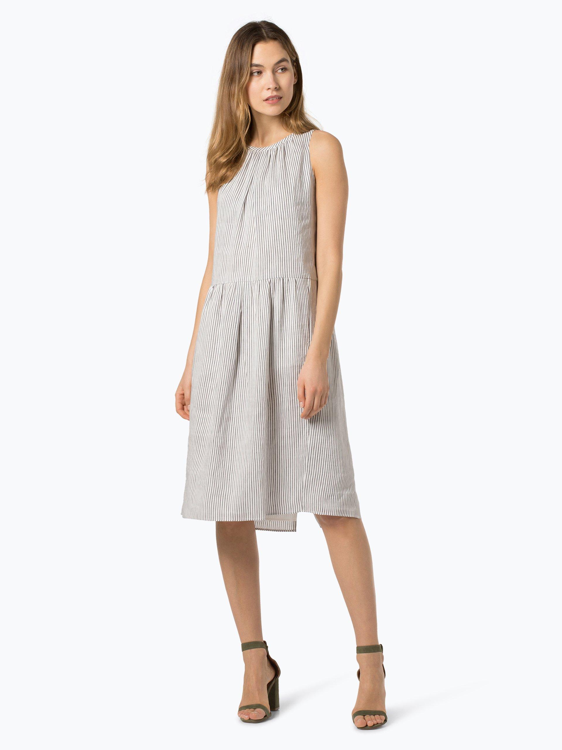 Weekend MaxMara Damen Kleid aus Leinen-Seiden-Mix online ...