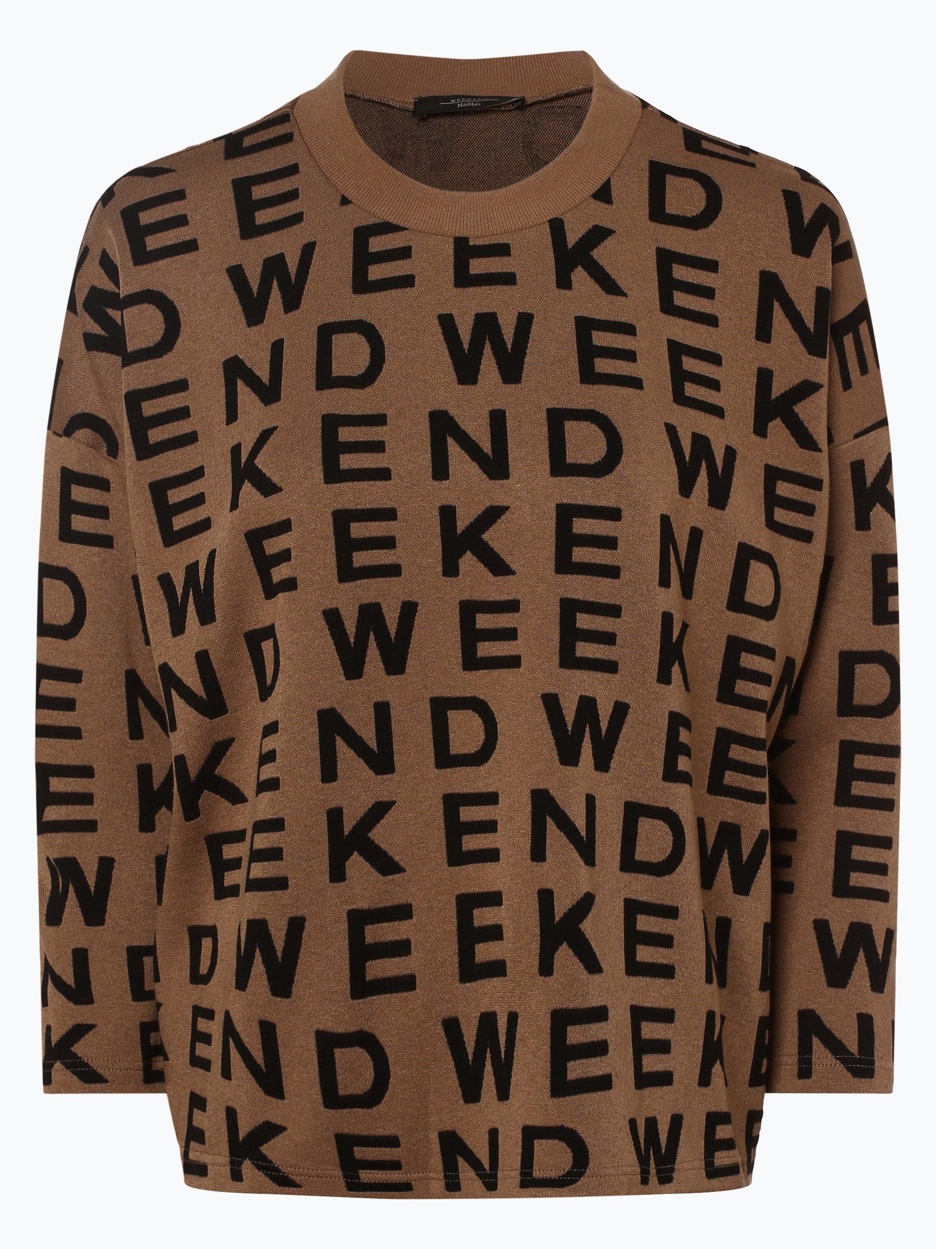 Weekend MaxMara Damen Sweatshirt - Legno