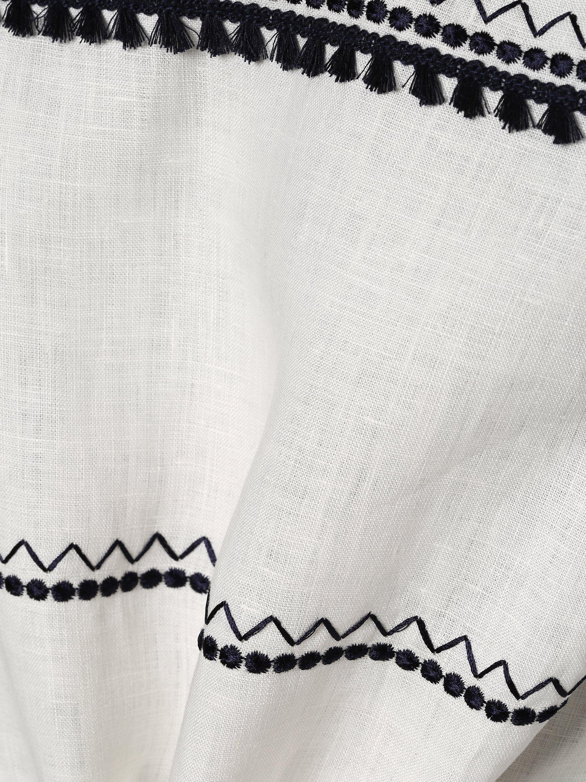 Weekend MaxMara Damen T-Shirt mit Leinen-Anteil - Tecnico