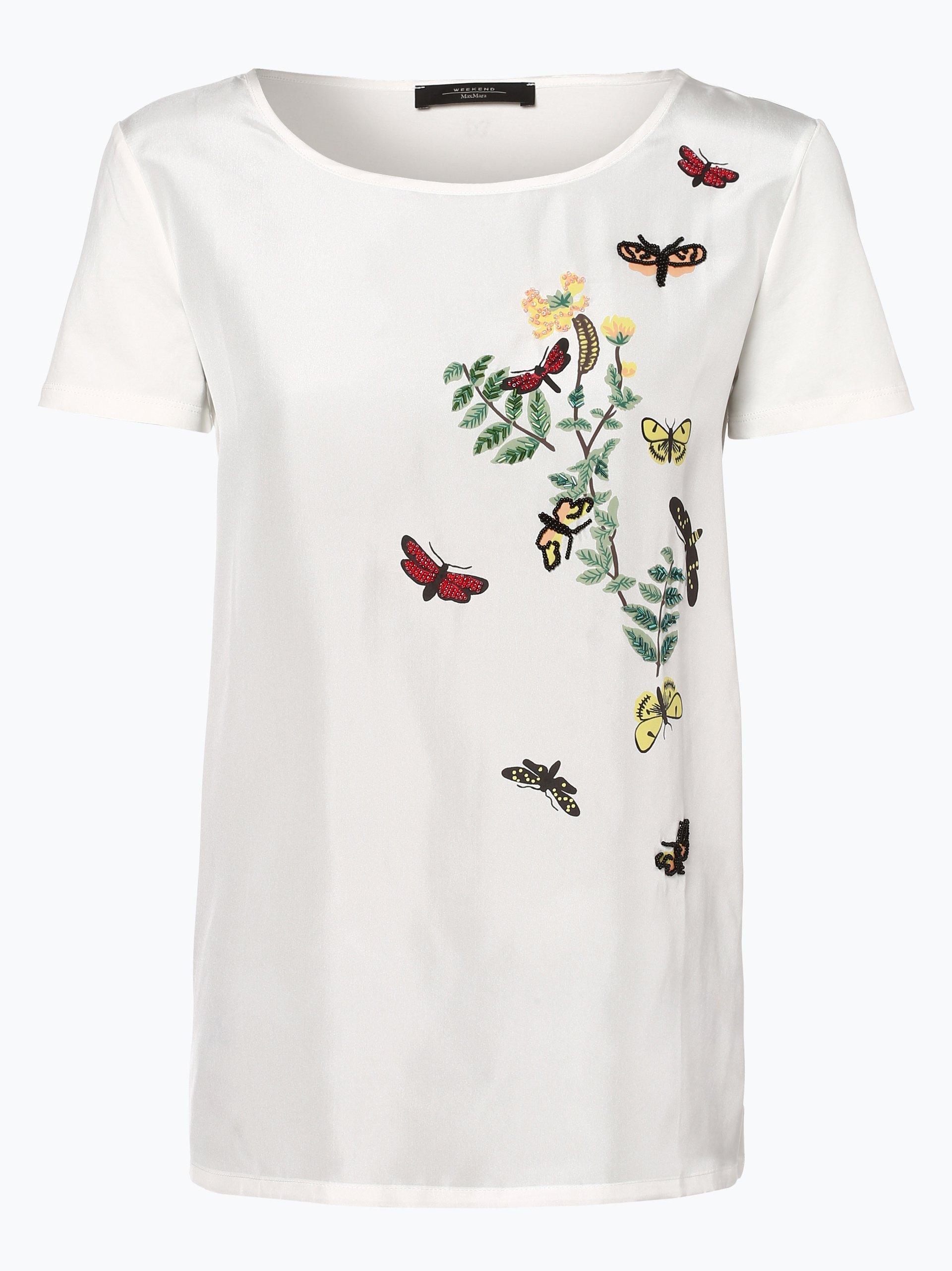 Weekend MaxMara Damen T-Shirt mit Seiden-Anteil - Moda
