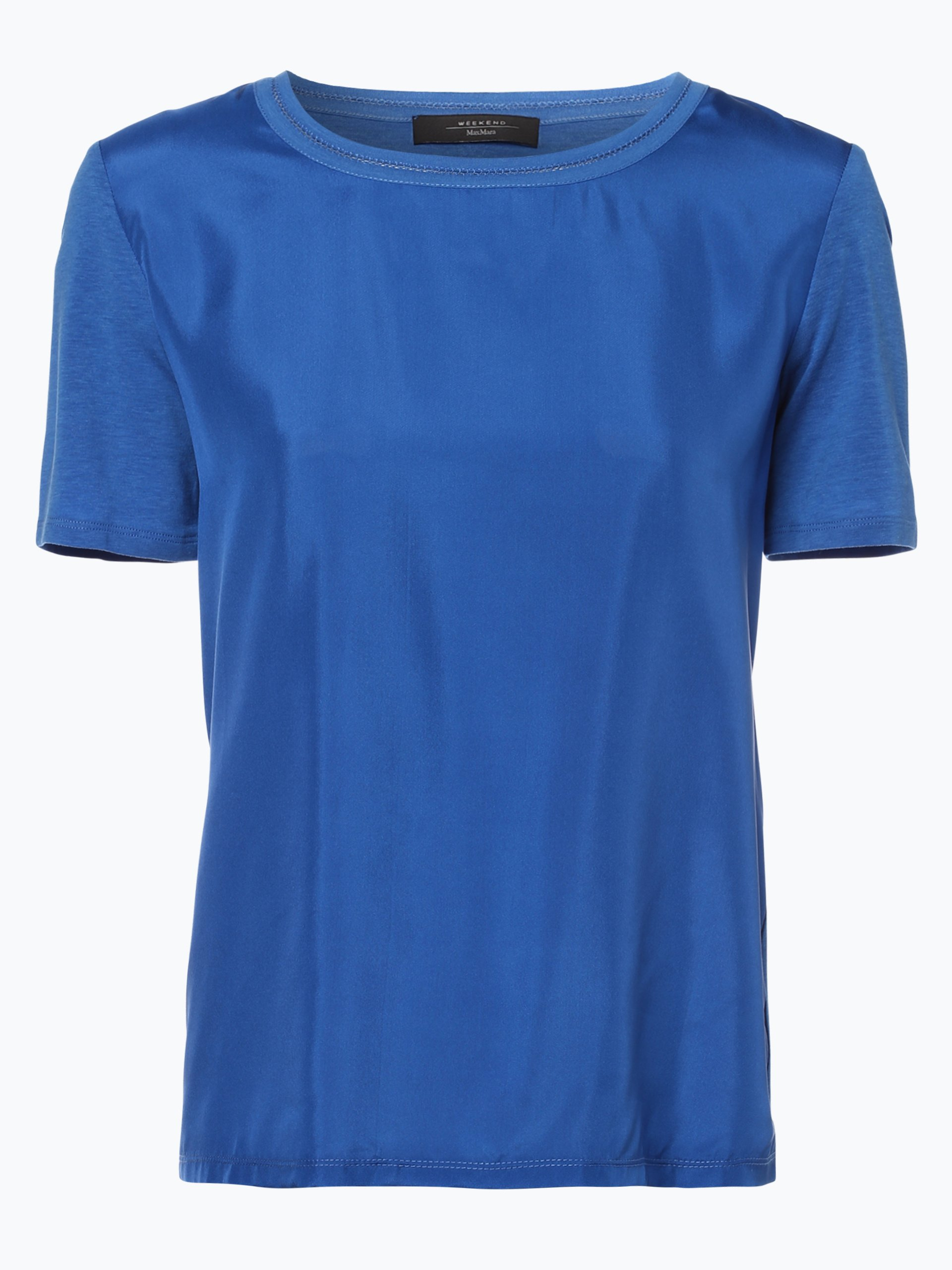 Weekend MaxMara Damen T-Shirt mit Seiden-Anteil