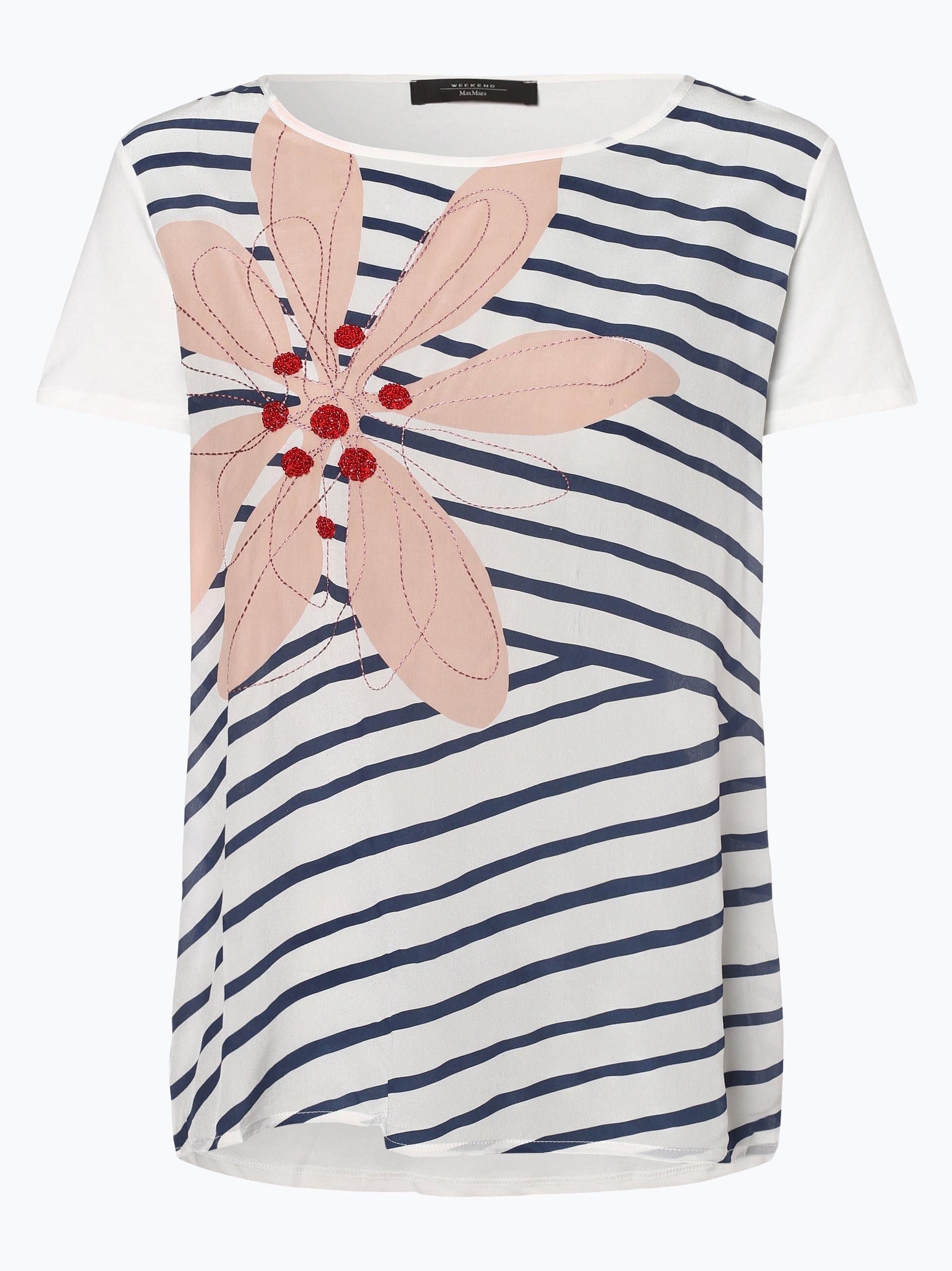 Weekend MaxMara Damen T-Shirt mit Seiden-Anteil
